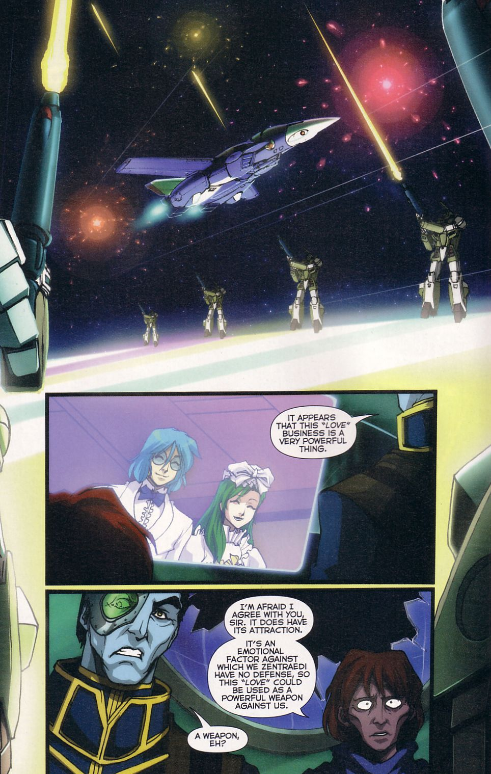 Read online Robotech: Love and War comic -  Issue #6 - 11