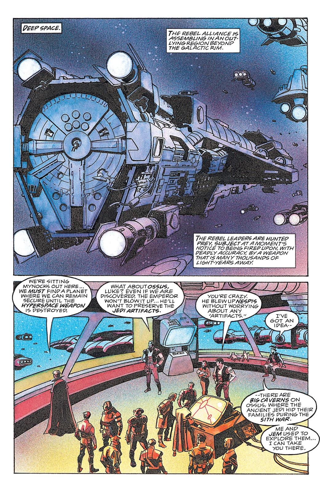 Read online Star Wars: Dark Empire Trilogy comic -  Issue # TPB (Part 4) - 25