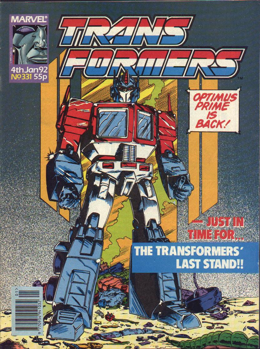 The Transformers (UK) 331 Page 1