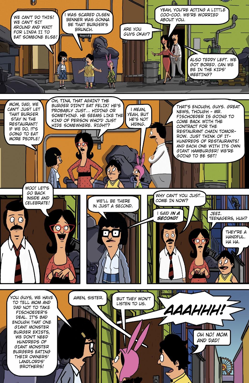 Bob's Burgers (2015) Issue #16 #16 - English 20