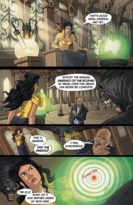 Read online Tin Man comic -  Issue # Full - 4
