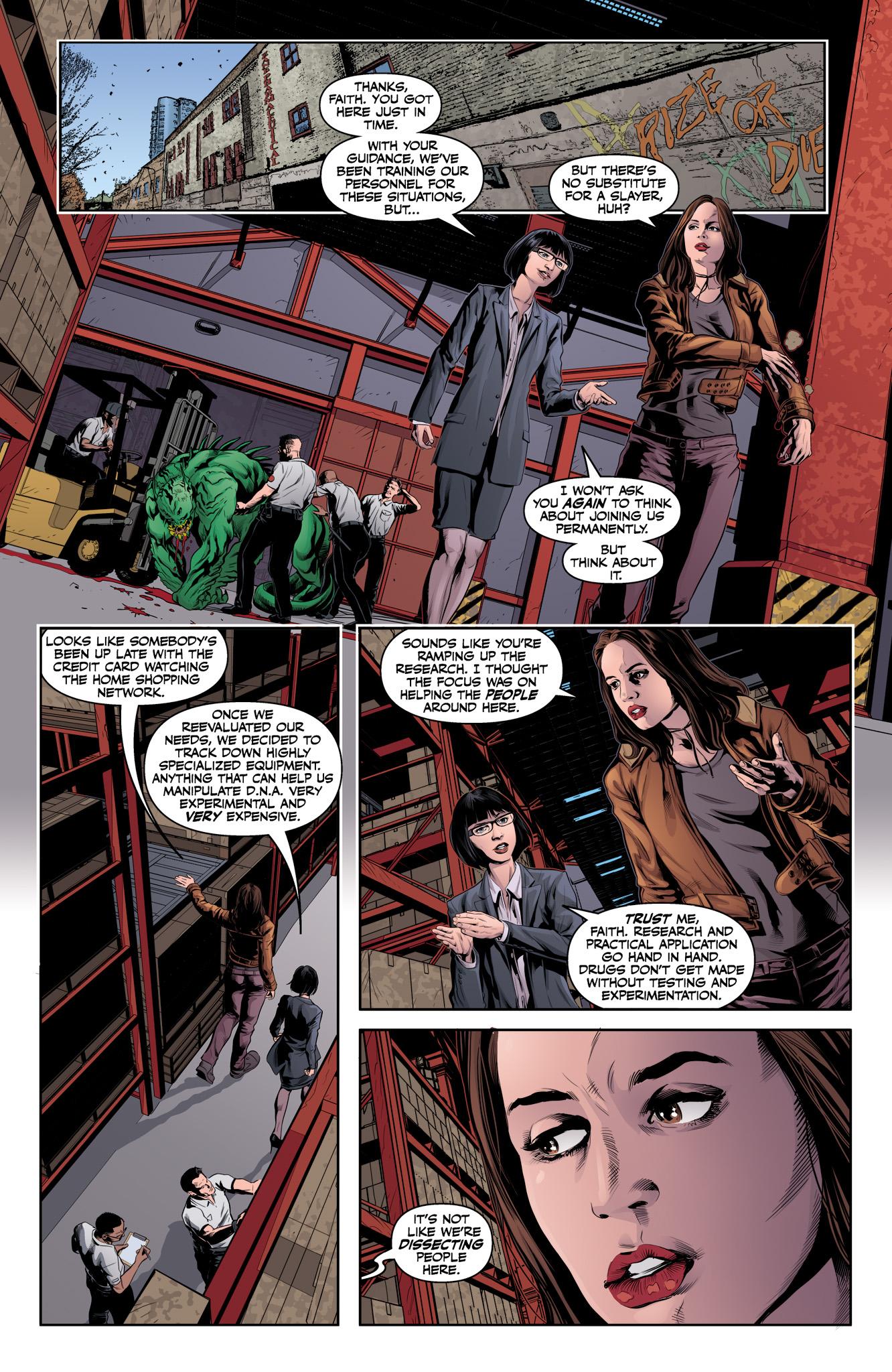 Read online Angel & Faith Season 10 comic -  Issue #12 - 15