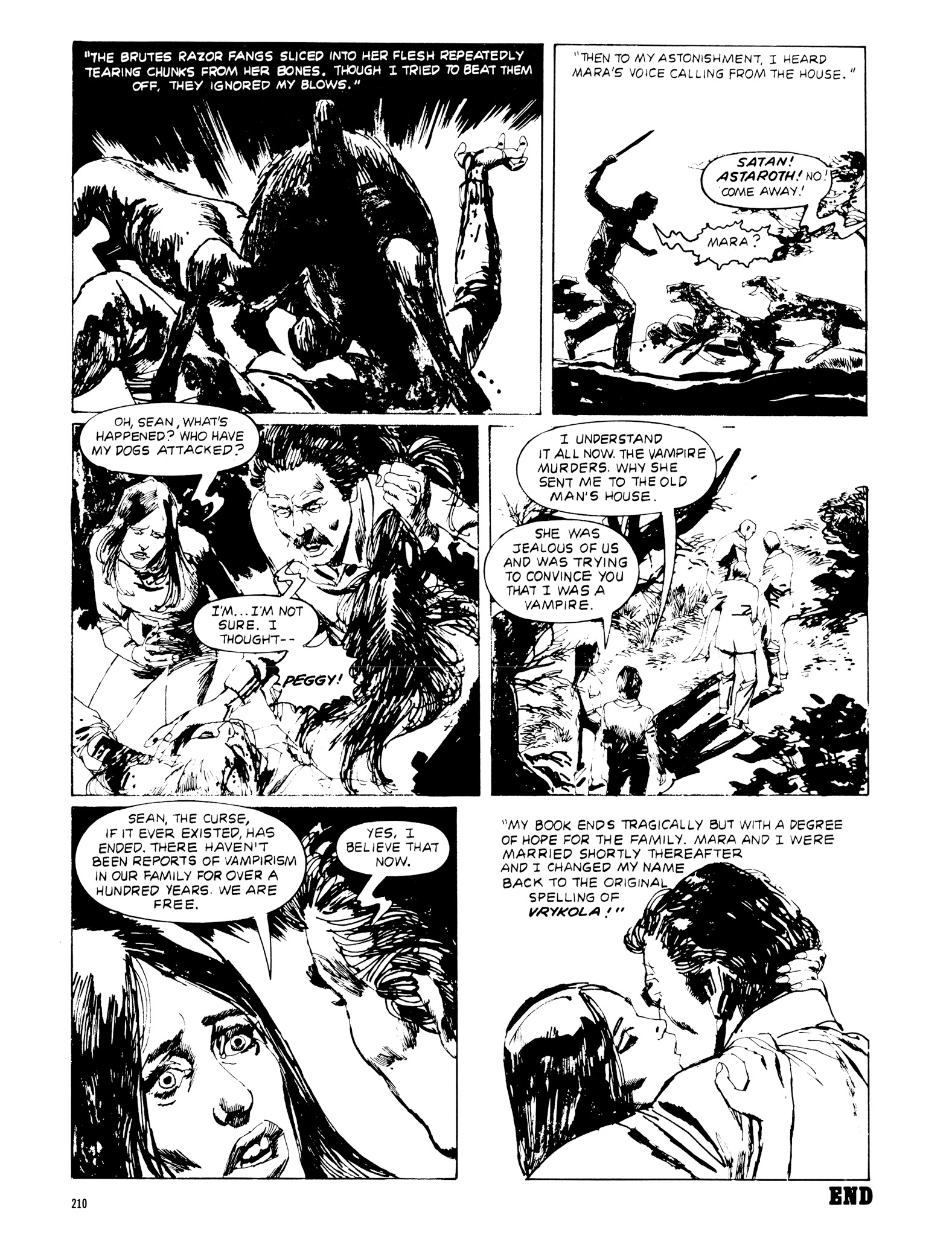 Read online Eerie Archives comic -  Issue # TPB 20 - 210