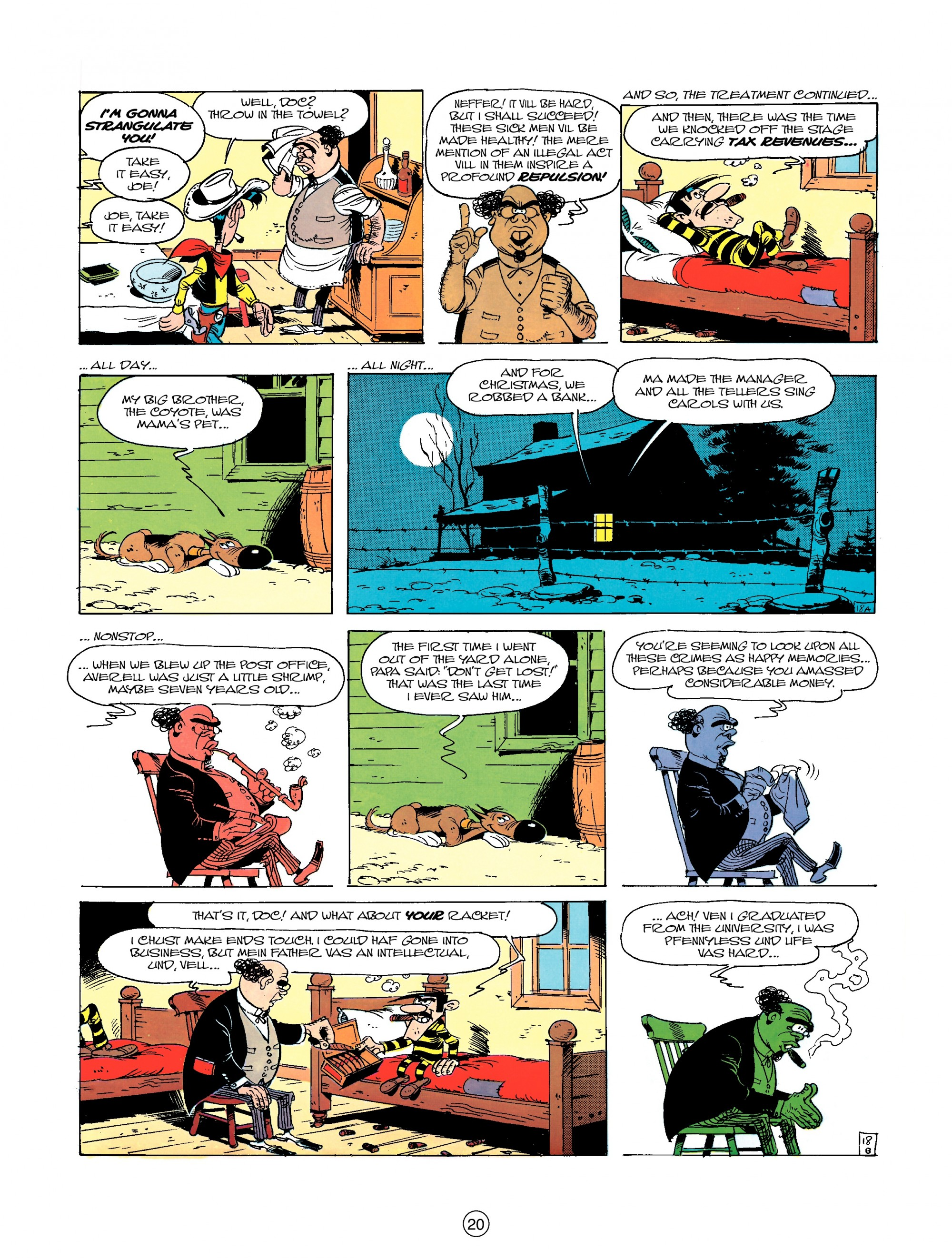 Read online A Lucky Luke Adventure comic -  Issue #23 - 20