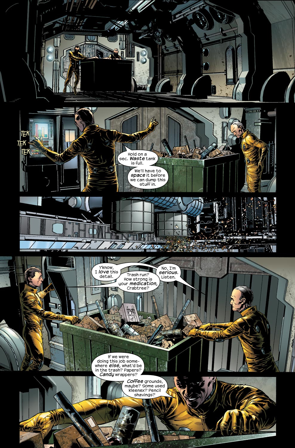 Read online Ultimate Vision comic -  Issue #2 - 6