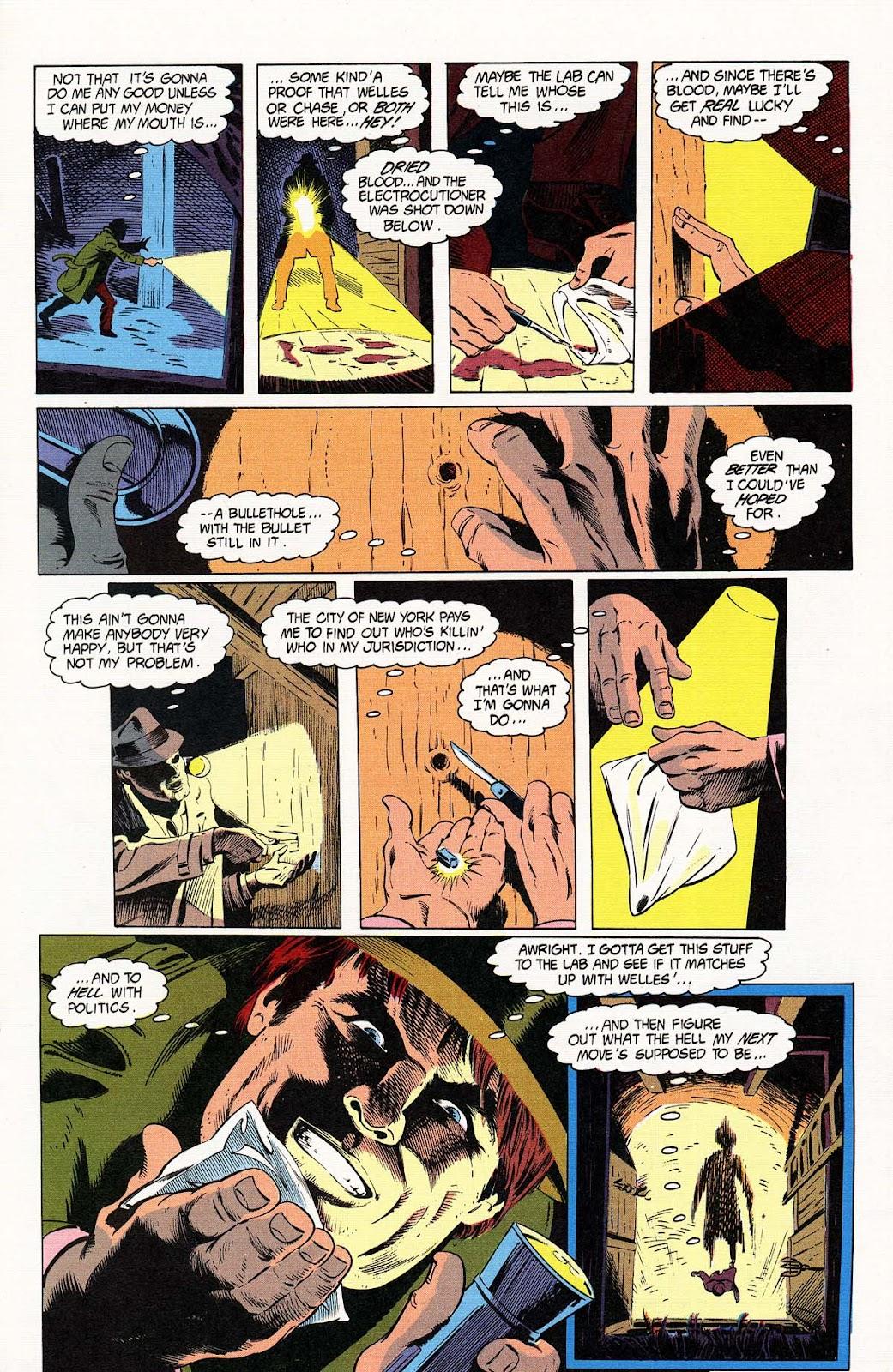 Vigilante (1983) issue 32 - Page 19