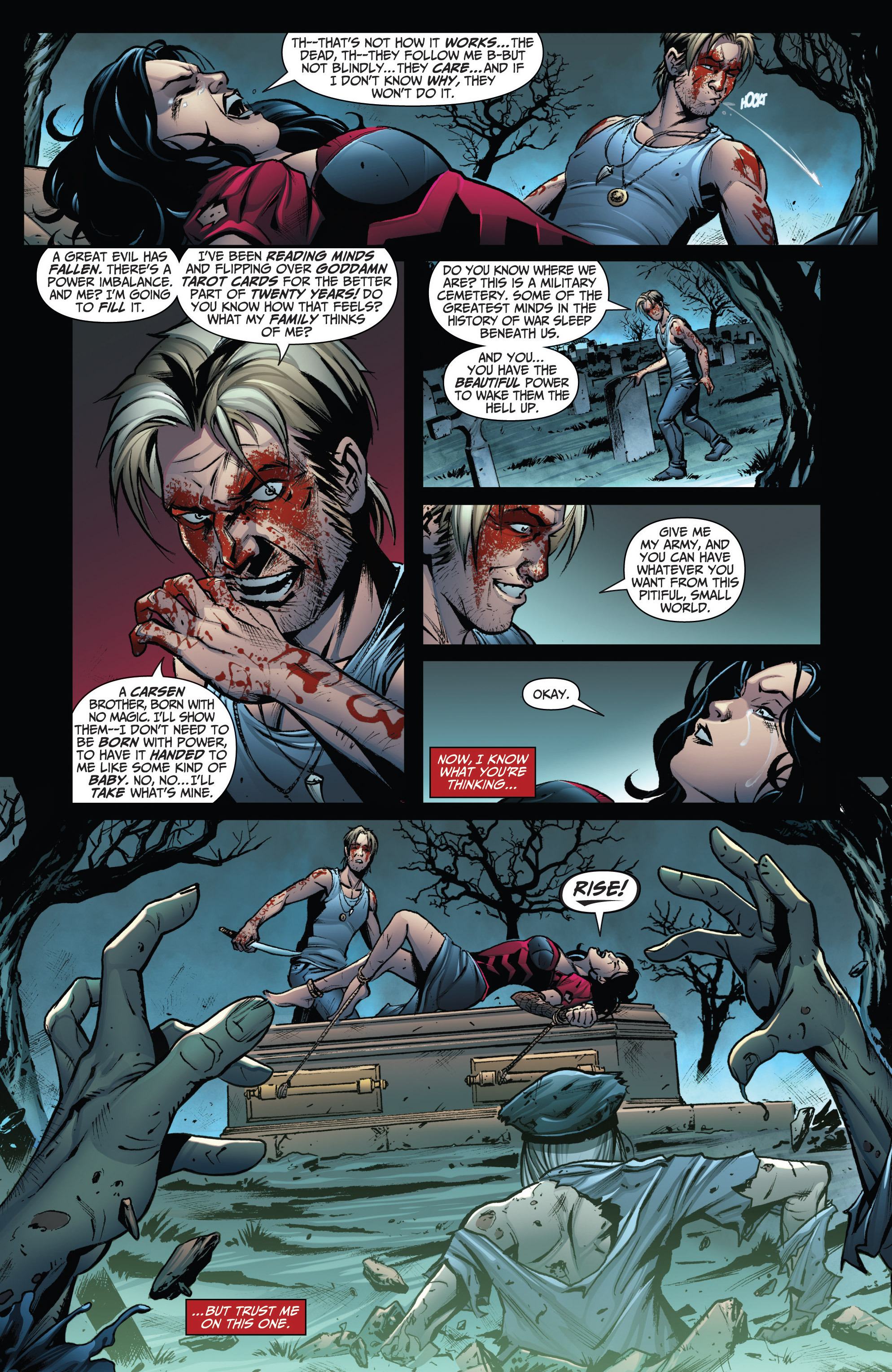 Read online Grimm Fairy Tales: Arcane Acre comic -  Issue # TPB 3 - 38