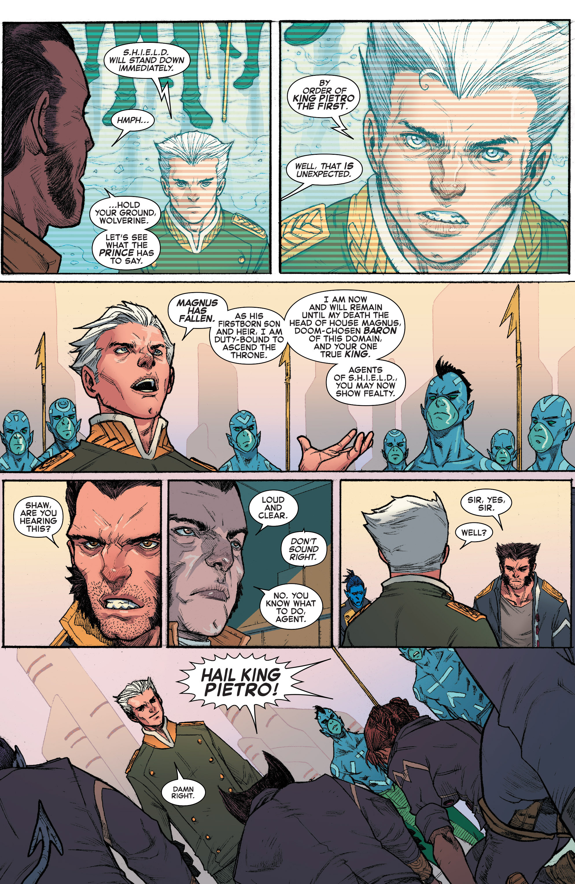 Read online House of M (2015) comic -  Issue #3 - 9
