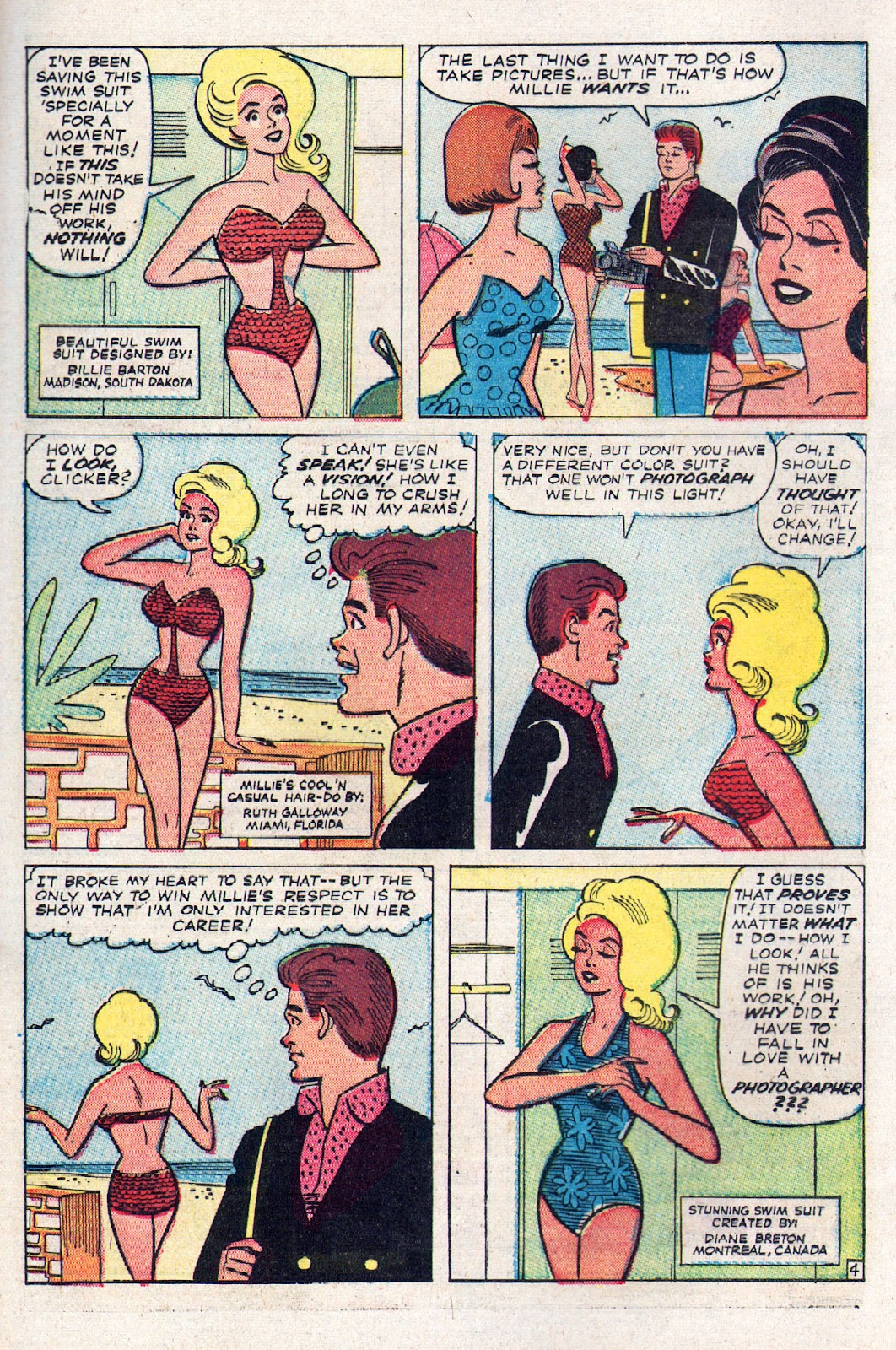 Read online Millie the Model comic -  Issue # Annual 2 - 6
