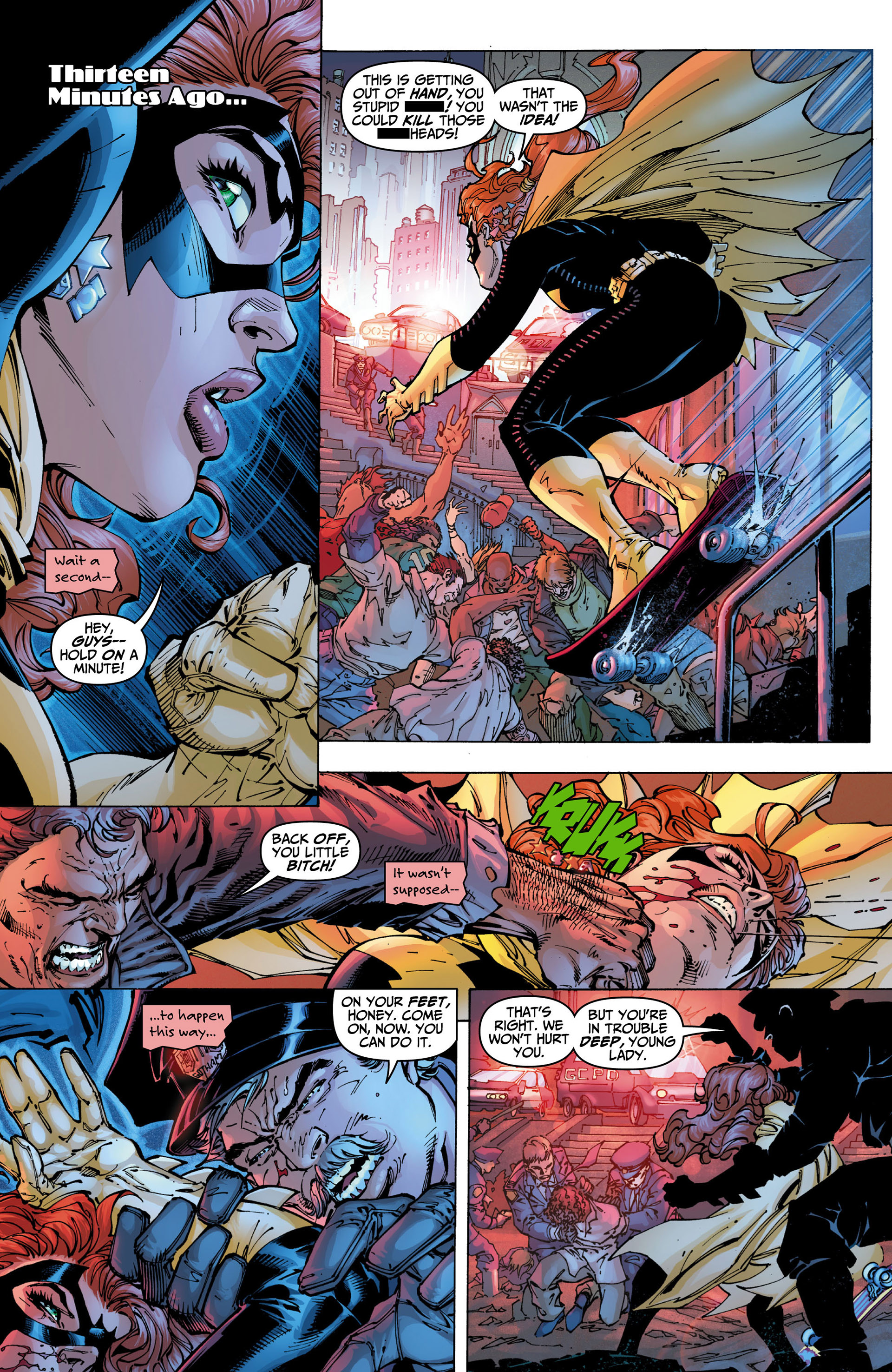 Read online All Star Batman & Robin, The Boy Wonder comic -  Issue #10 - 19