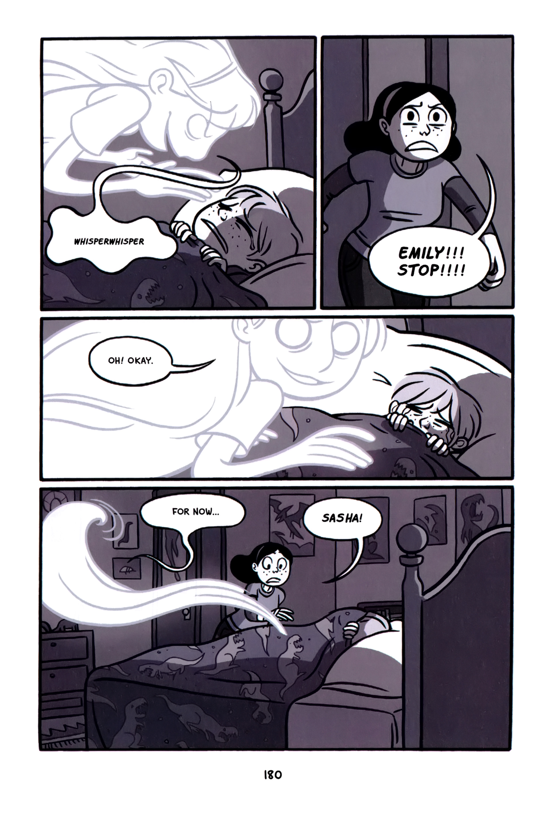 Read online Anya's Ghost comic -  Issue #1 - 181