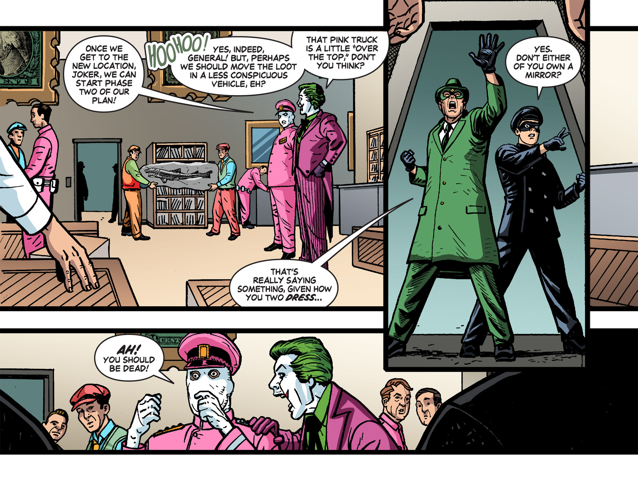 Read online Batman '66 Meets the Green Hornet [II] comic -  Issue #4 - 91