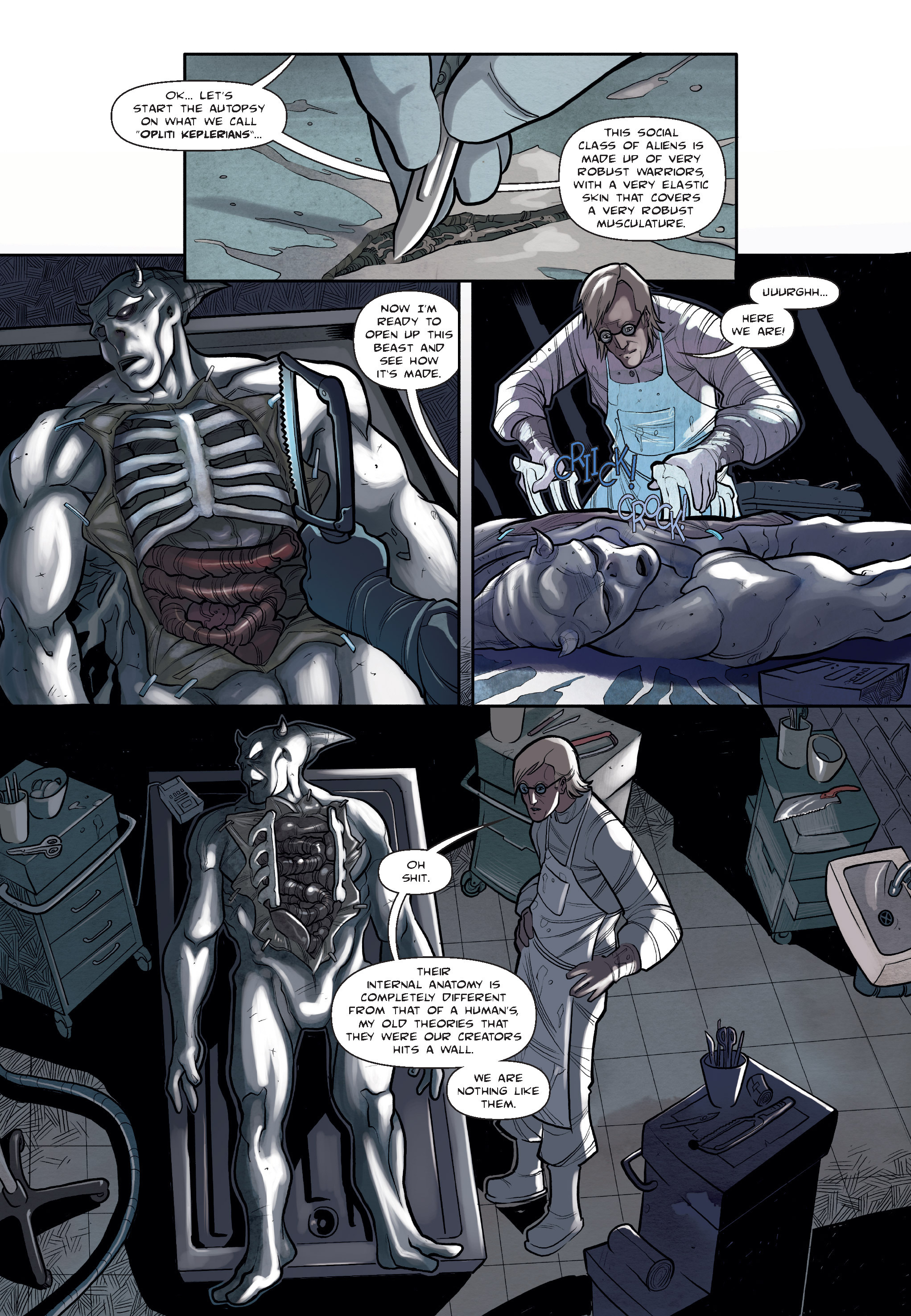 Read online The Shadow of a Terrible Thing comic -  Issue # TPB - 29
