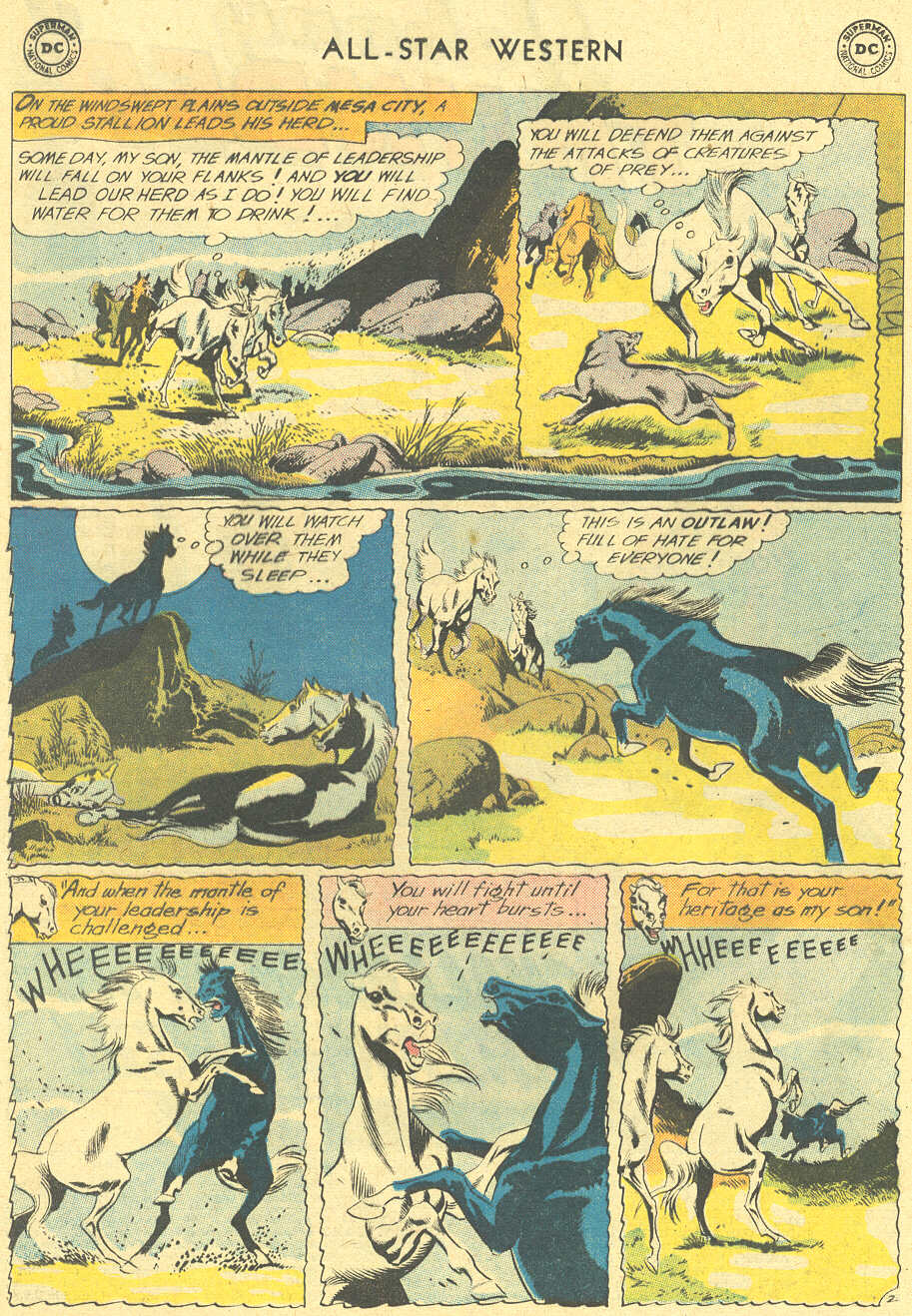 Read online All-Star Western (1951) comic -  Issue #113 - 4