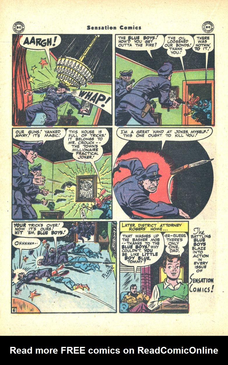 Read online Sensation (Mystery) Comics comic -  Issue #68 - 22