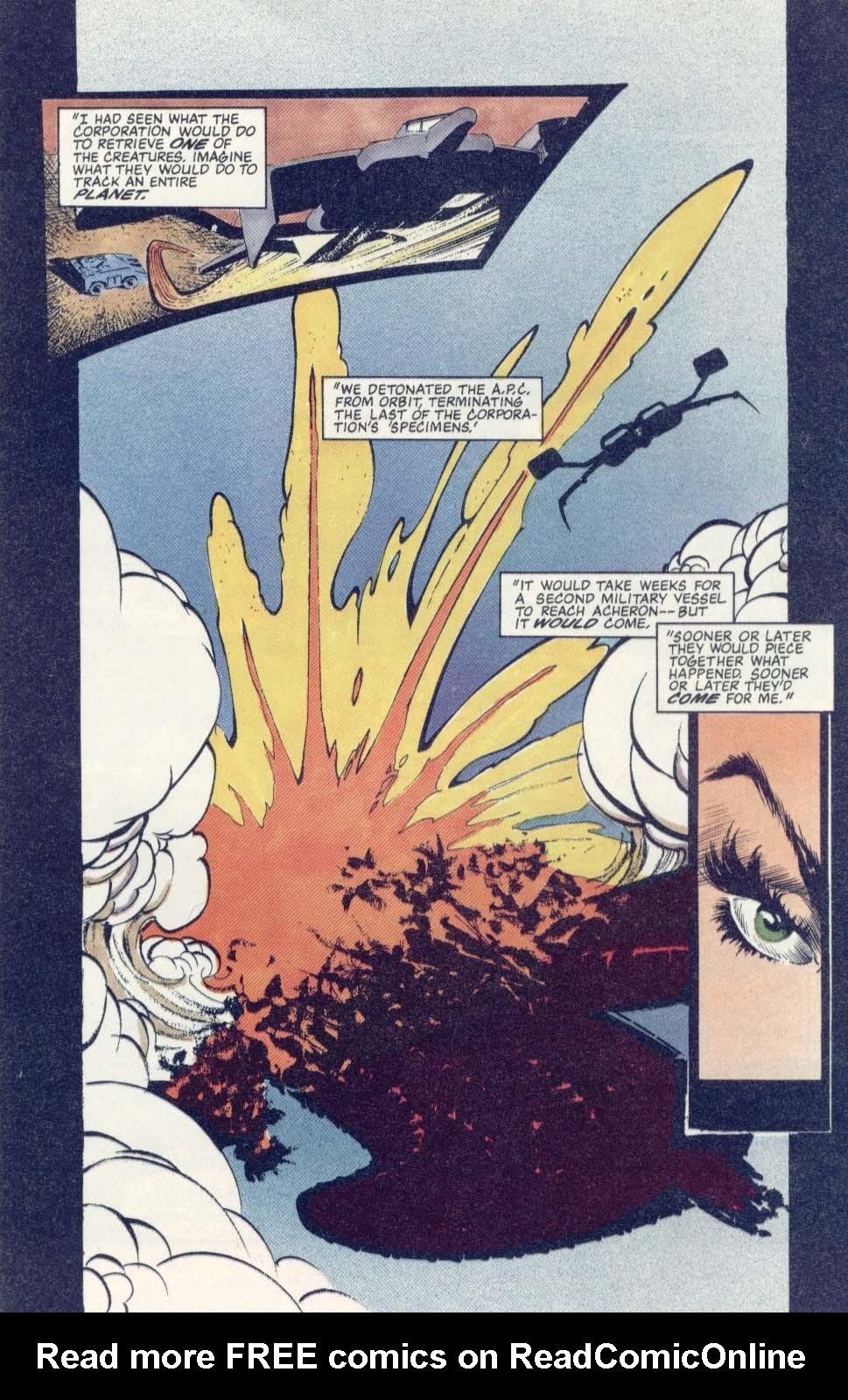 Read online Aliens: Earth War comic -  Issue #1 - 25