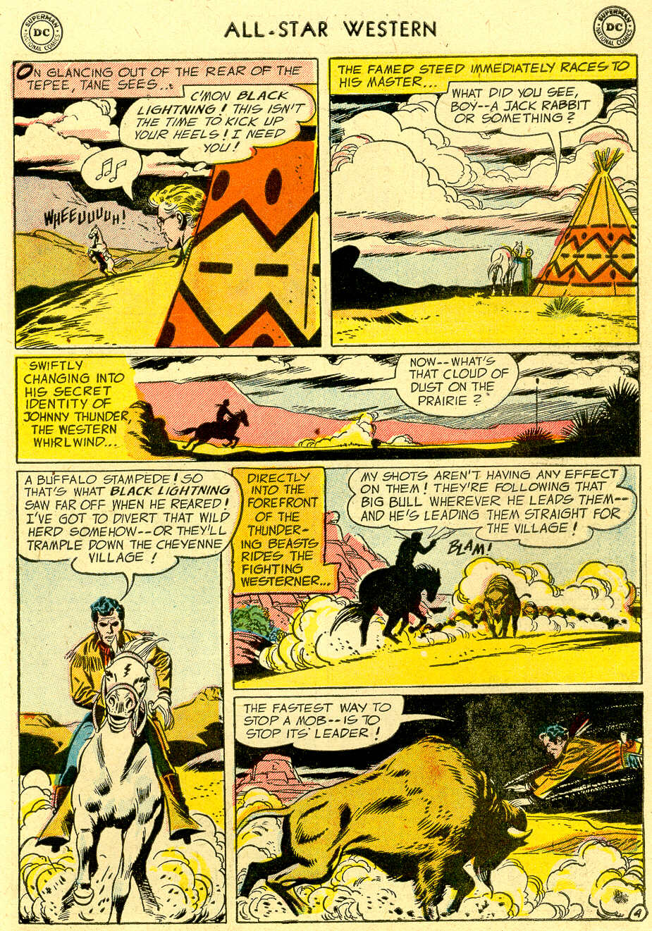 Read online All-Star Western (1951) comic -  Issue #83 - 31