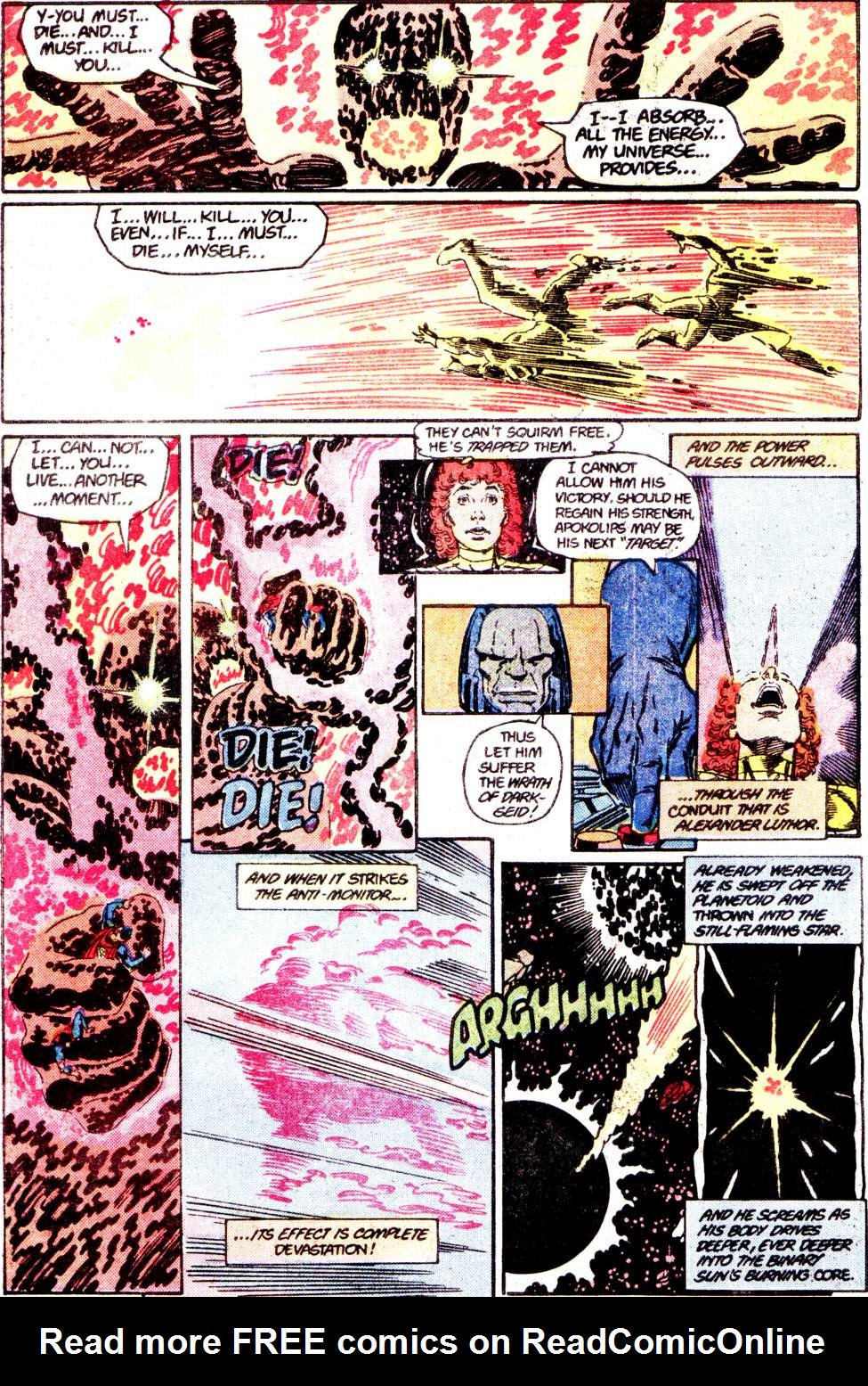 Crisis on Infinite Earths (1985) 12 Page 34