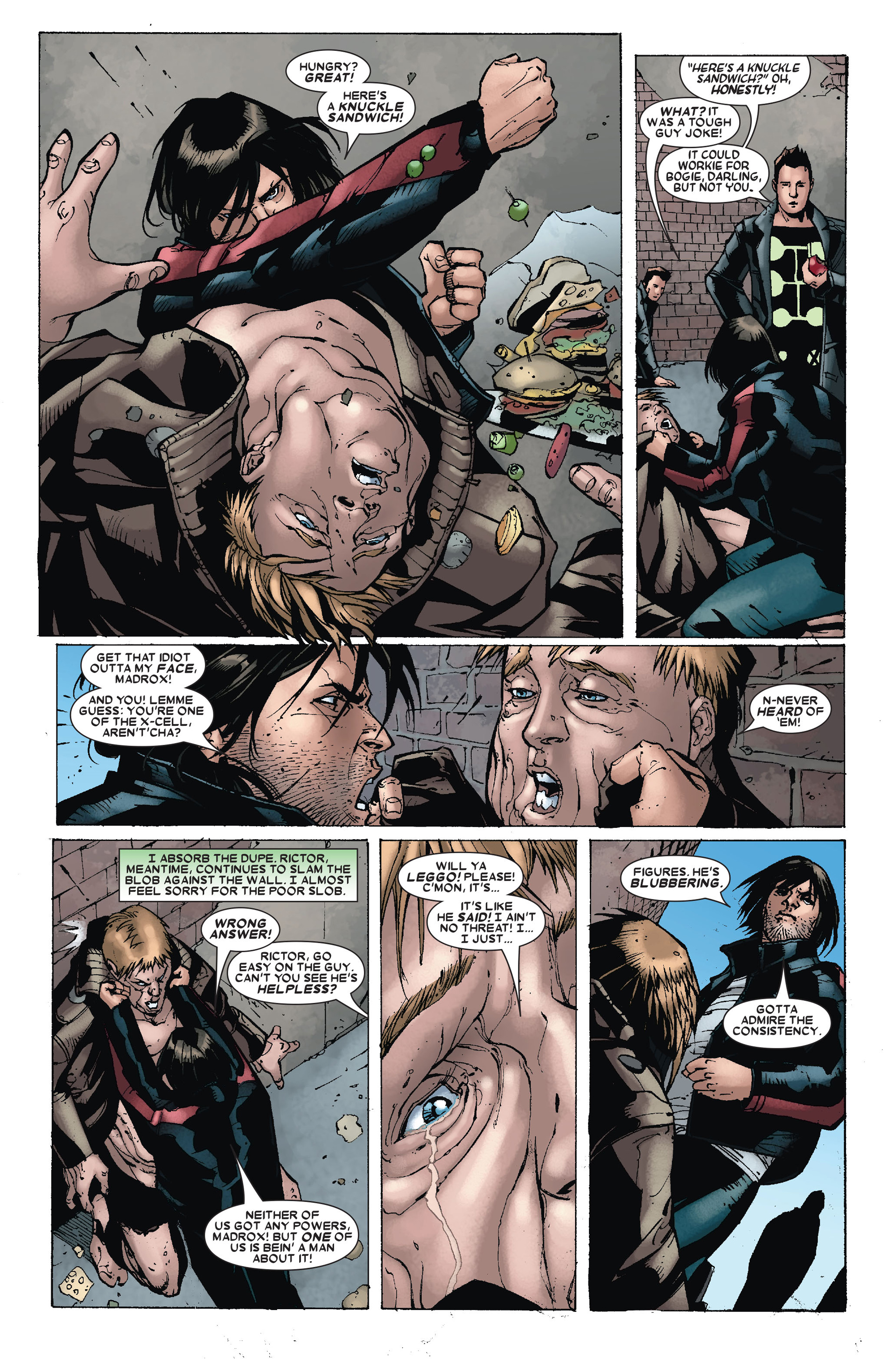 Read online X-Factor (2006) comic -  Issue #18 - 19