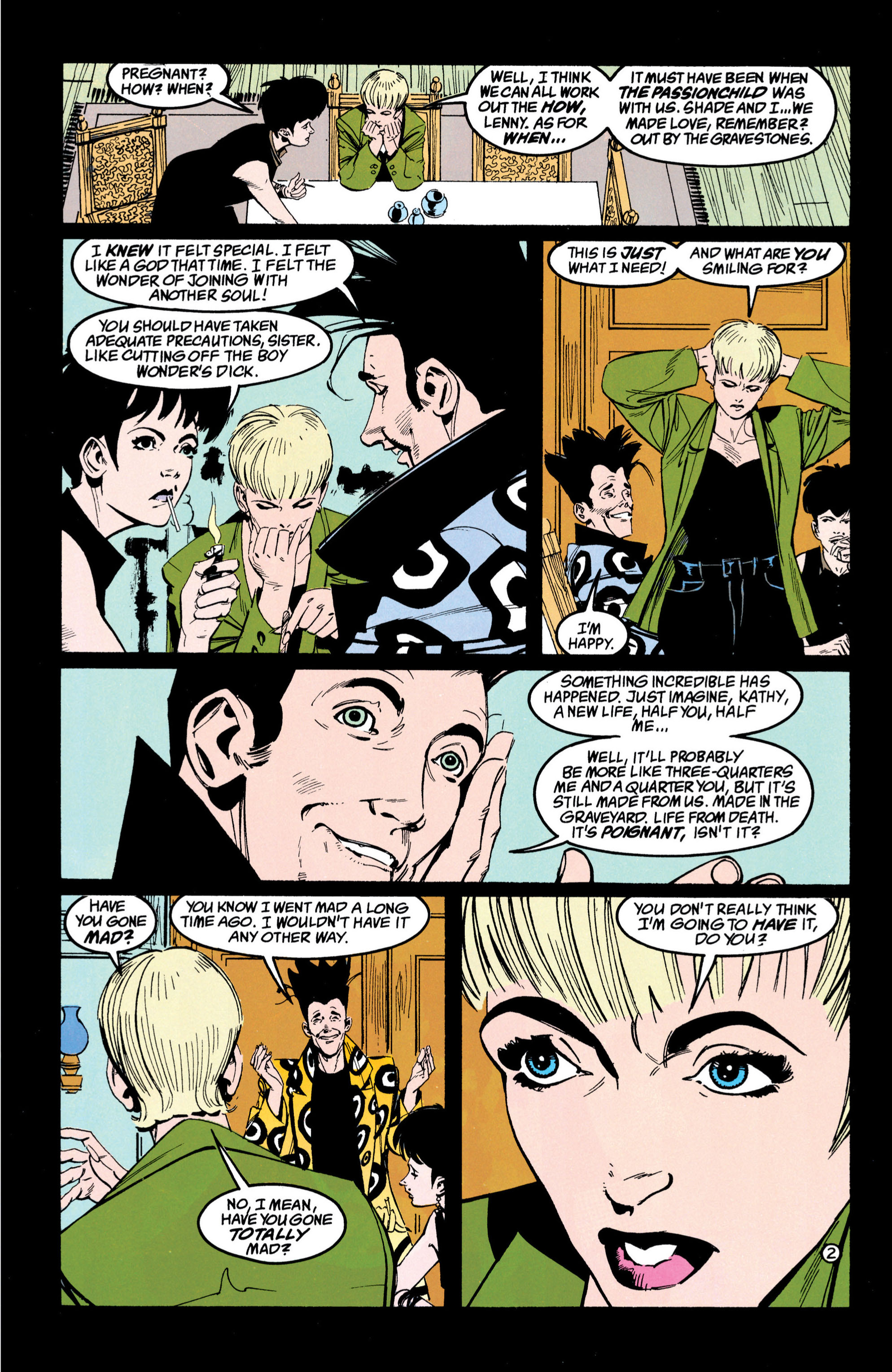 Read online Shade, the Changing Man comic -  Issue #42 - 3