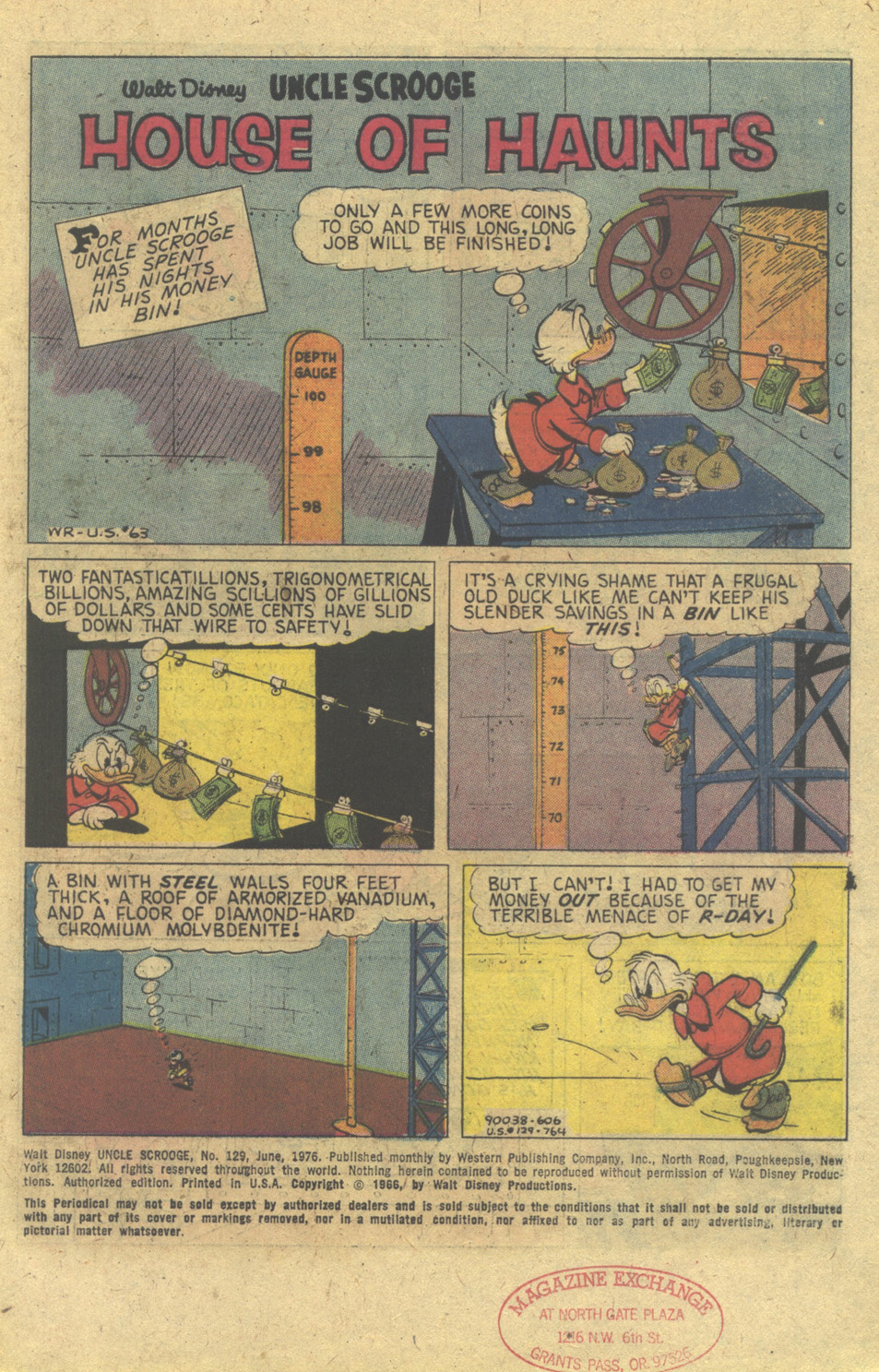 Read online Uncle Scrooge (1953) comic -  Issue #129 - 3