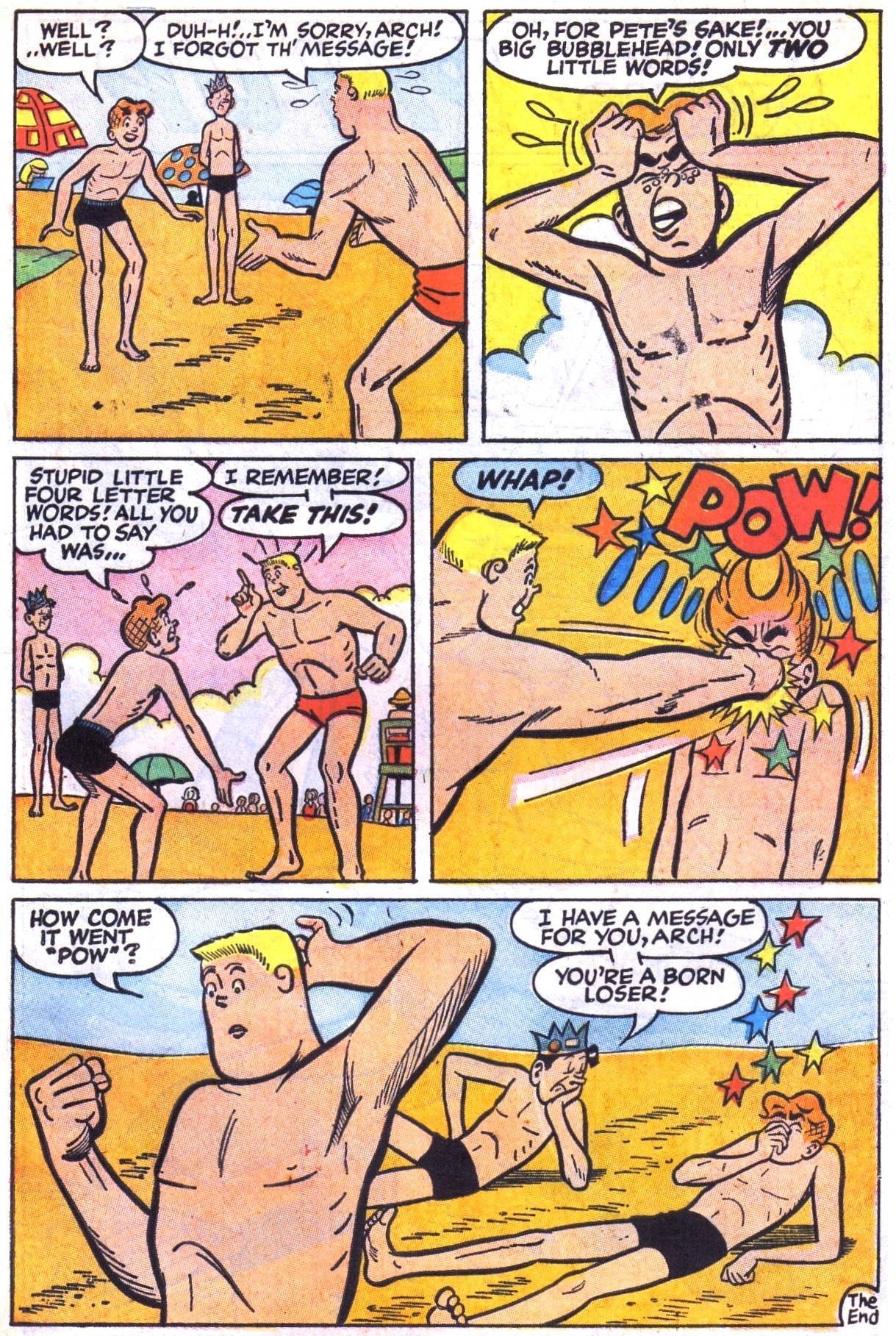 Read online Archie (1960) comic -  Issue #177 - 7