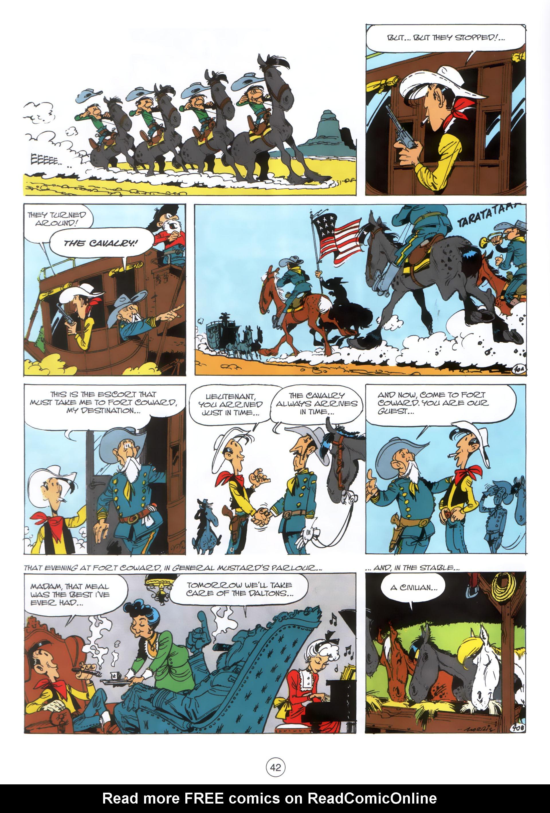Read online A Lucky Luke Adventure comic -  Issue #30 - 41