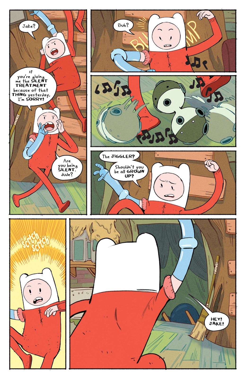 Read online Adventure Time: Beginning of the End comic -  Issue # _TPB - 8