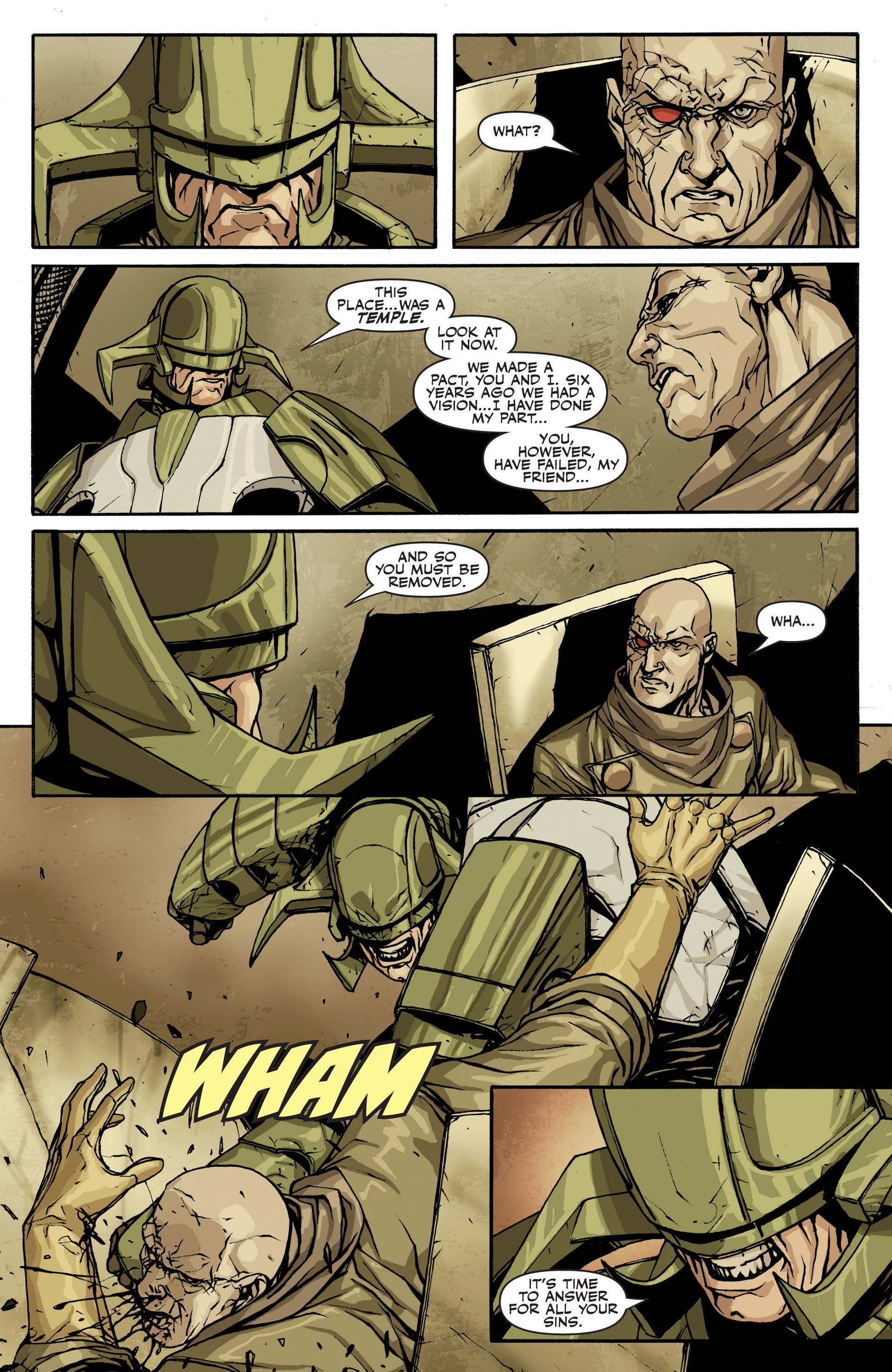 Read online Secret Warriors comic -  Issue #22 - 22