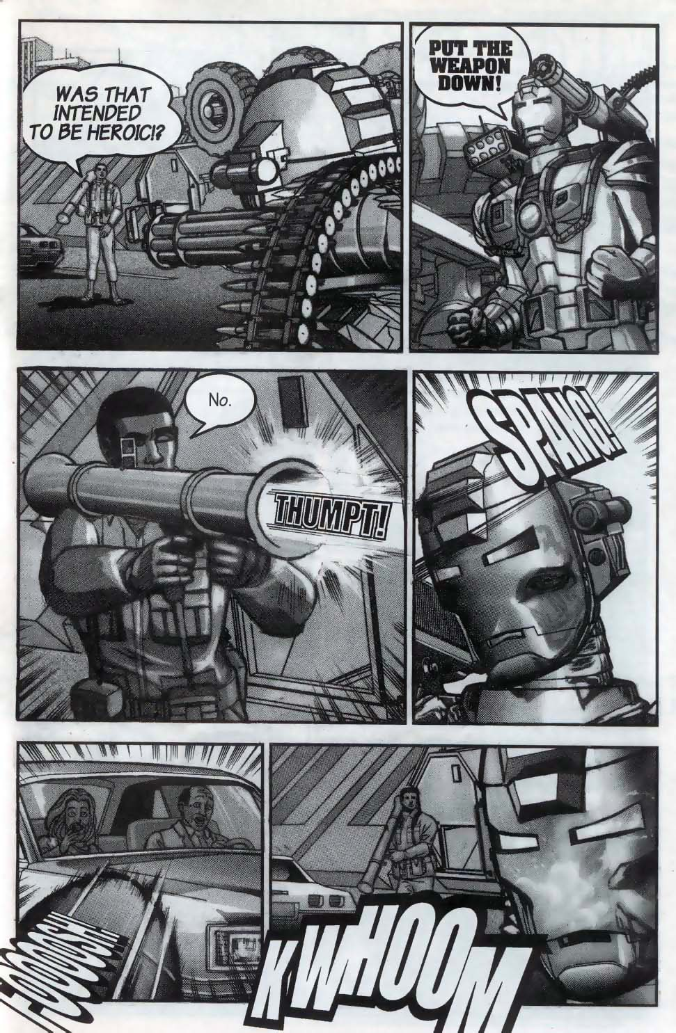 Read online U.S. War Machine comic -  Issue #1 - 17