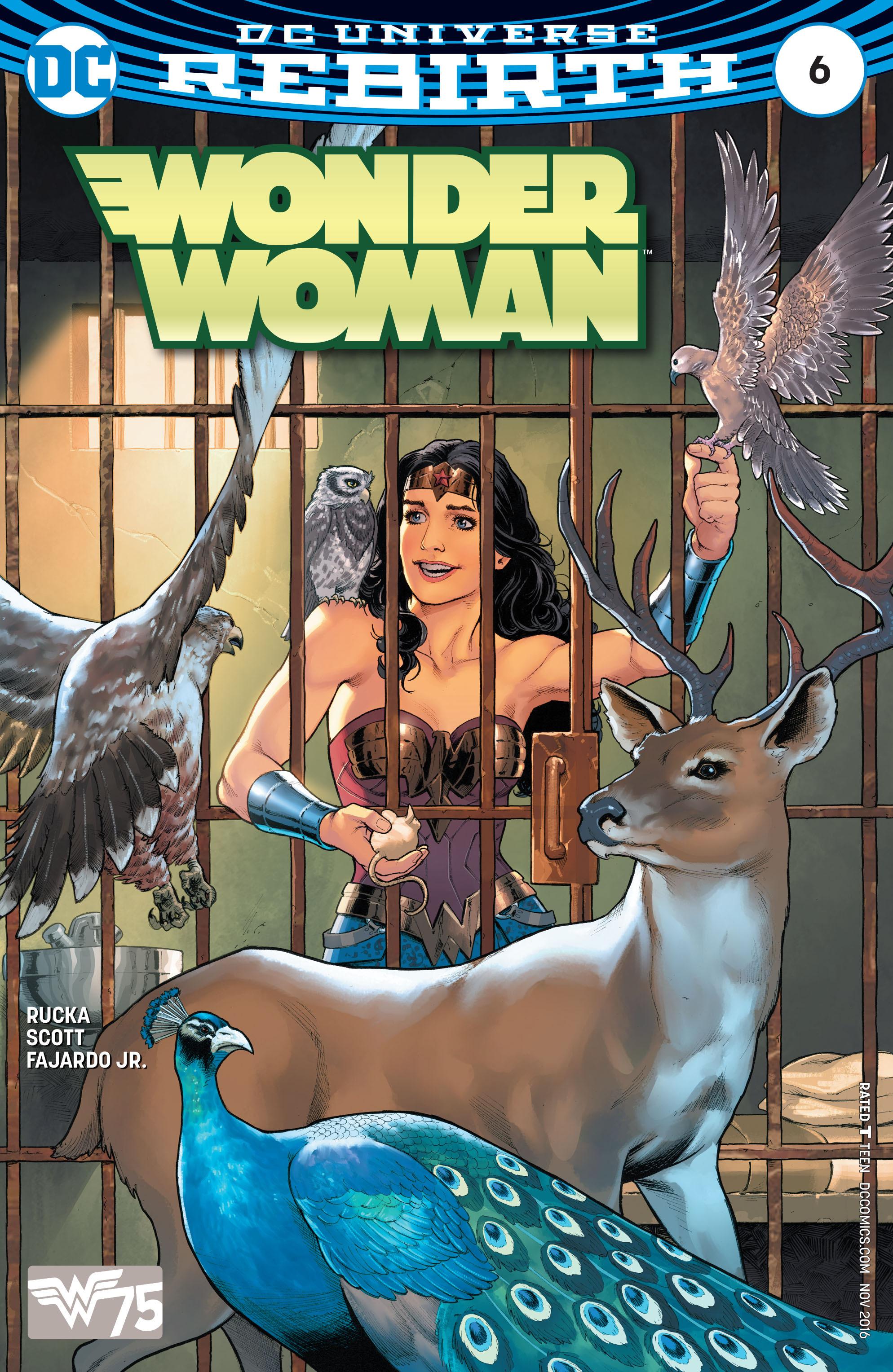 Read online Wonder Woman (2016) comic -  Issue #6 - 1