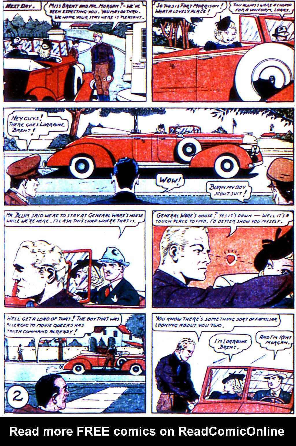 Read online Adventure Comics (1938) comic -  Issue #43 - 51