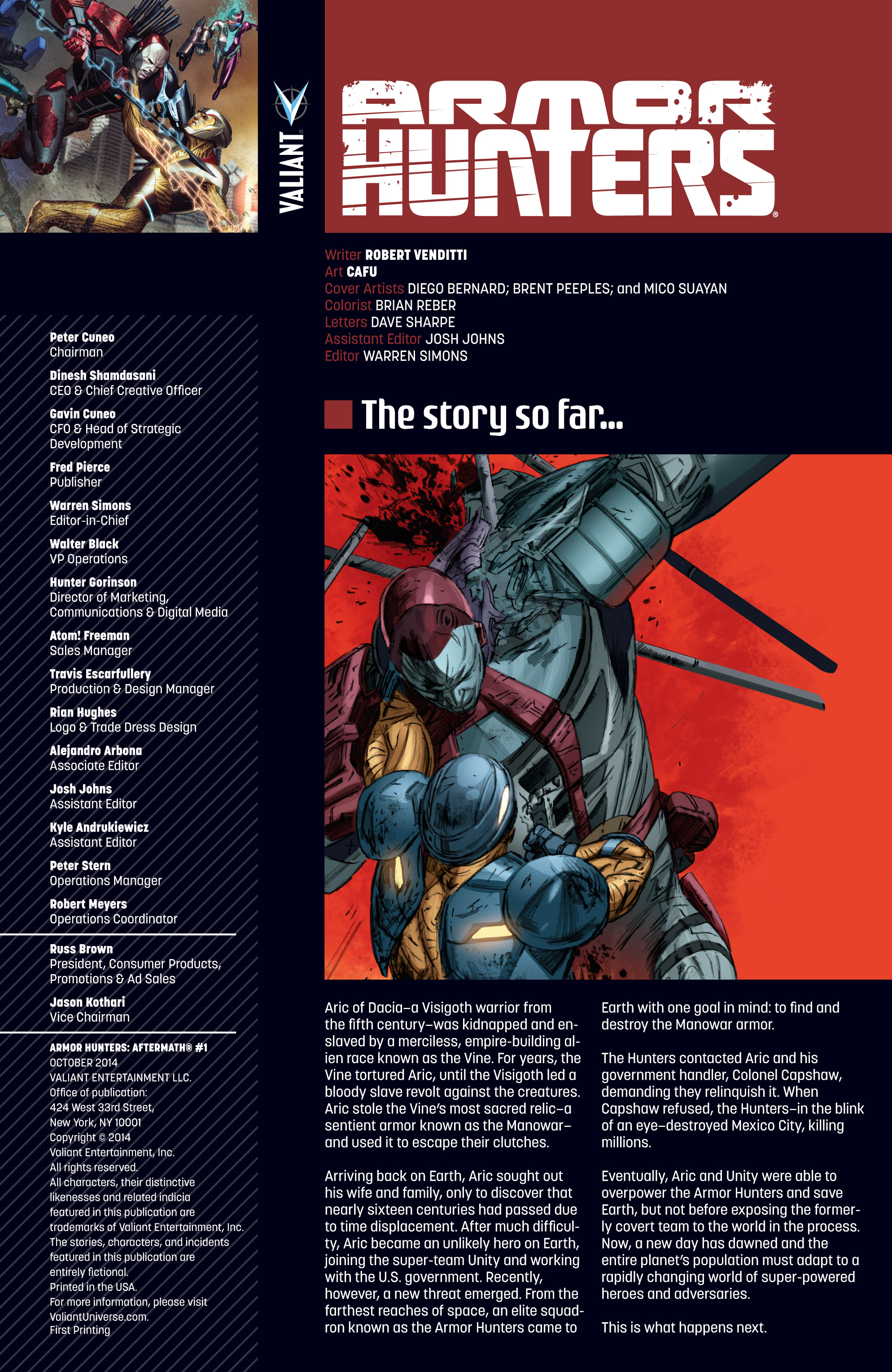 Read online Armor Hunters: Aftermath comic -  Issue # Full - 2