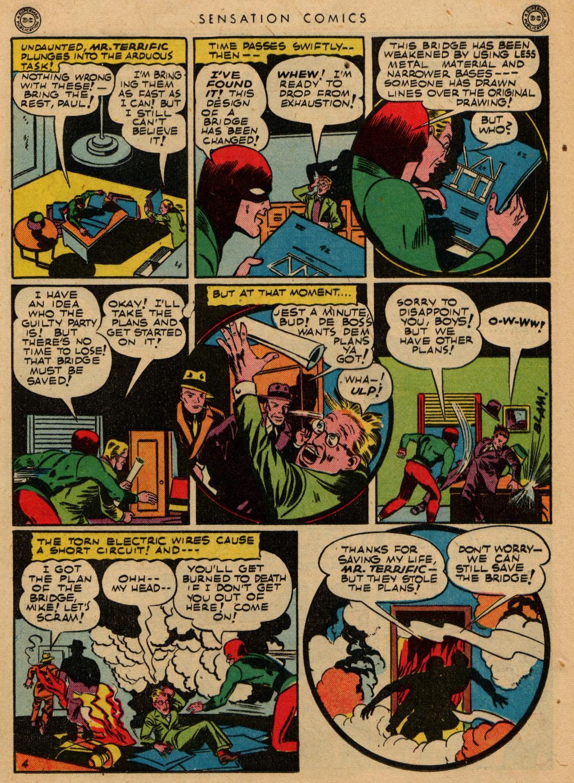 Read online Sensation (Mystery) Comics comic -  Issue #36 - 37