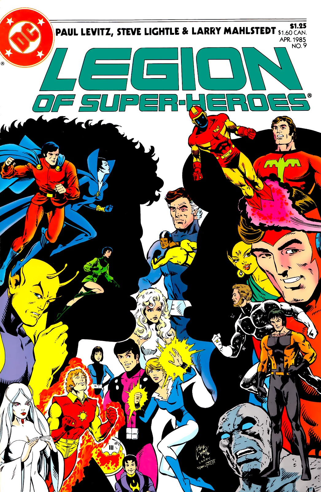Legion of Super-Heroes (1984) 9 Page 1