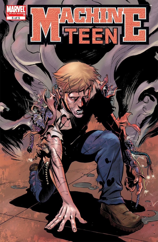Read online Machine Teen comic -  Issue #5 - 1