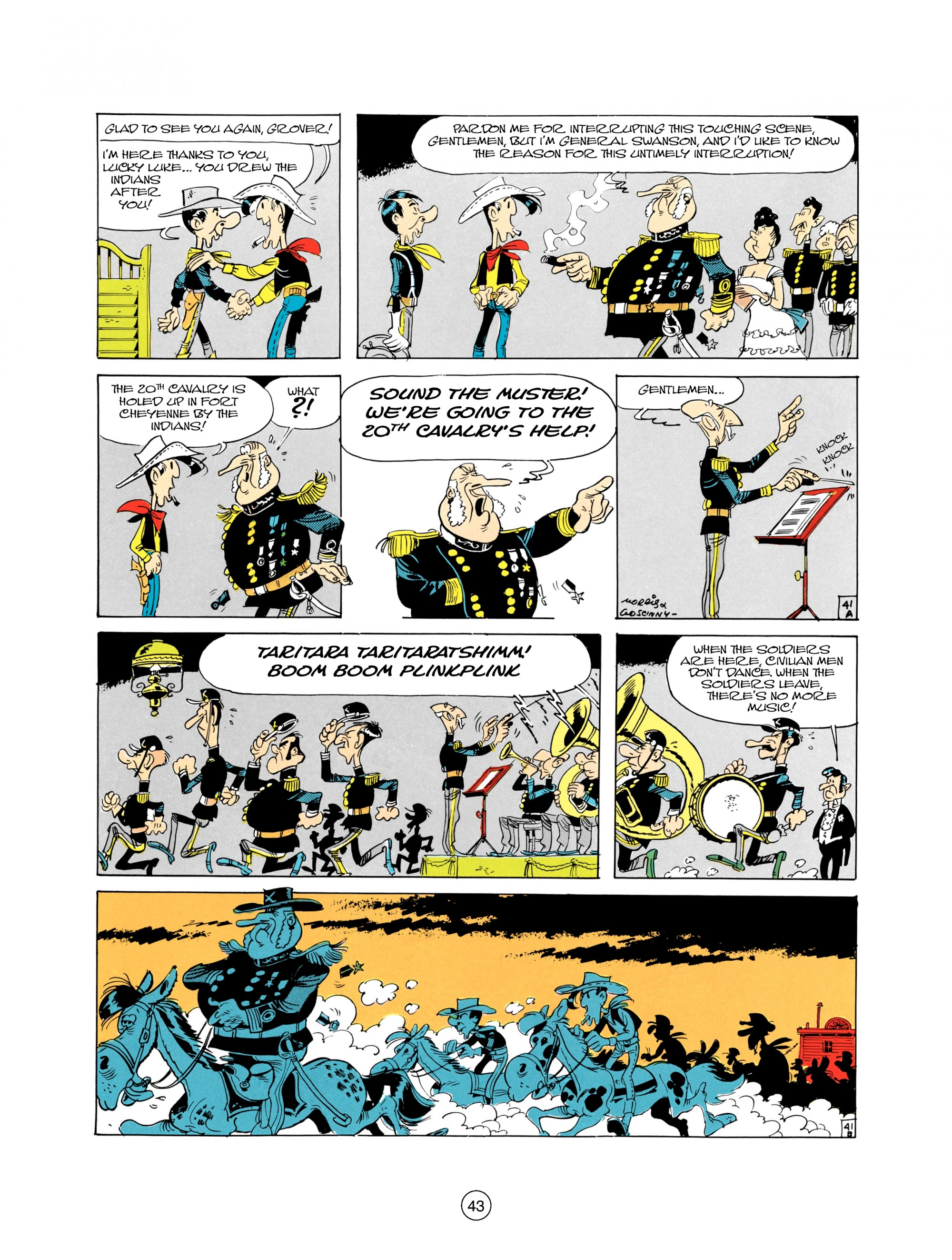 Read online A Lucky Luke Adventure comic -  Issue #21 - 43