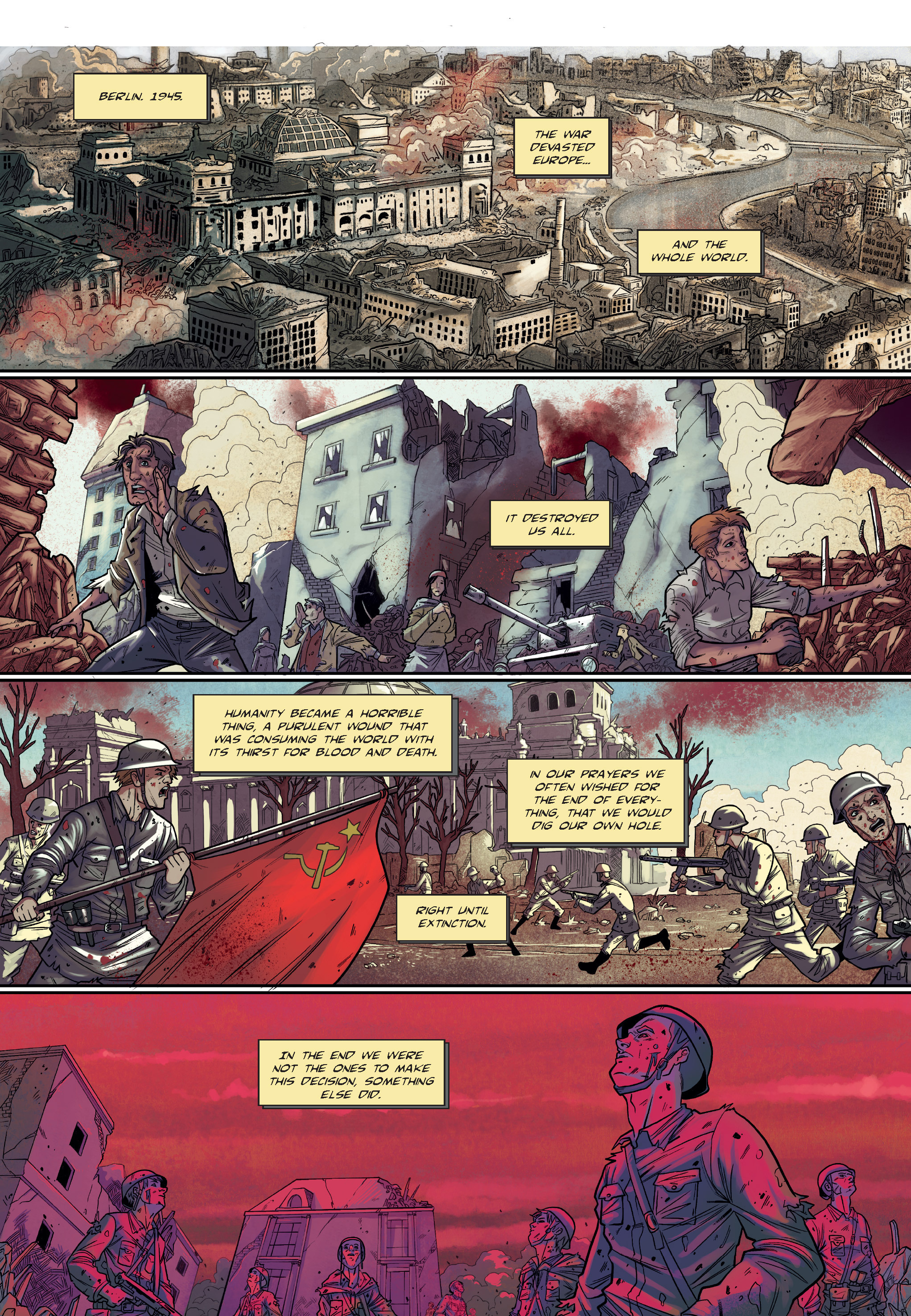 Read online The Shadow of a Terrible Thing comic -  Issue # TPB - 7