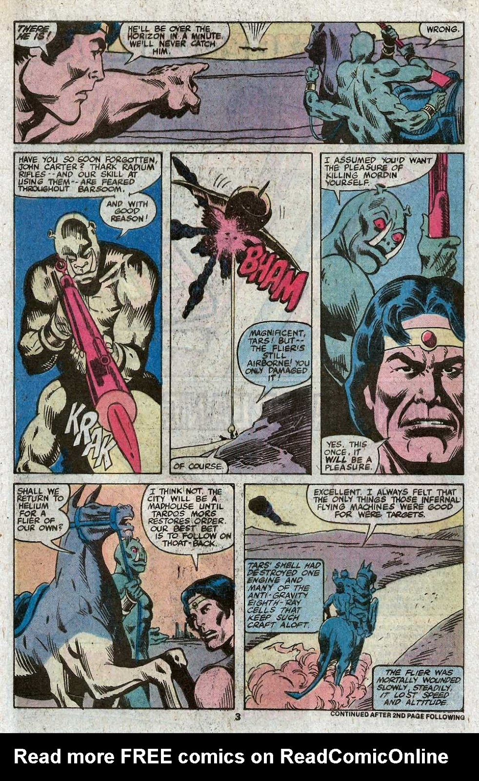 John Carter Warlord of Mars issue 27 - Page 5