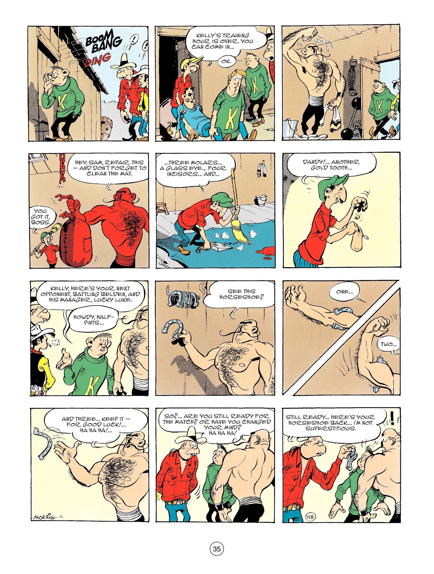 Read online A Lucky Luke Adventure comic -  Issue #56 - 35