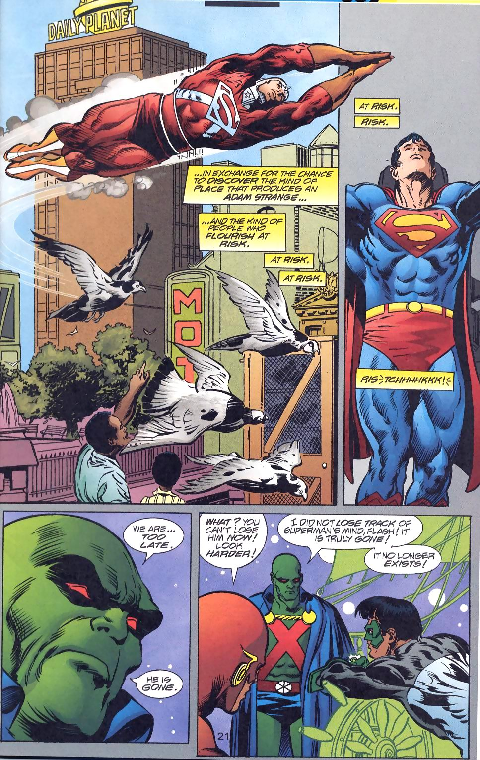 Read online Adventures of Superman (1987) comic -  Issue #570 - 23