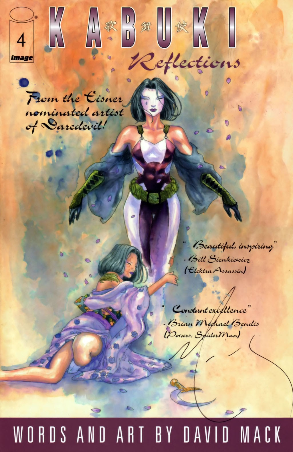 Read online Kabuki: Reflections comic -  Issue #4 - 1