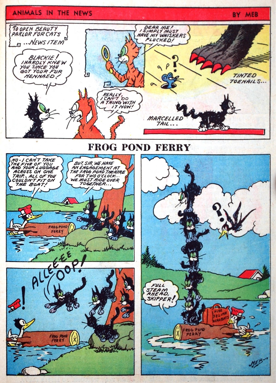 Read online Famous Funnies comic -  Issue #75 - 58