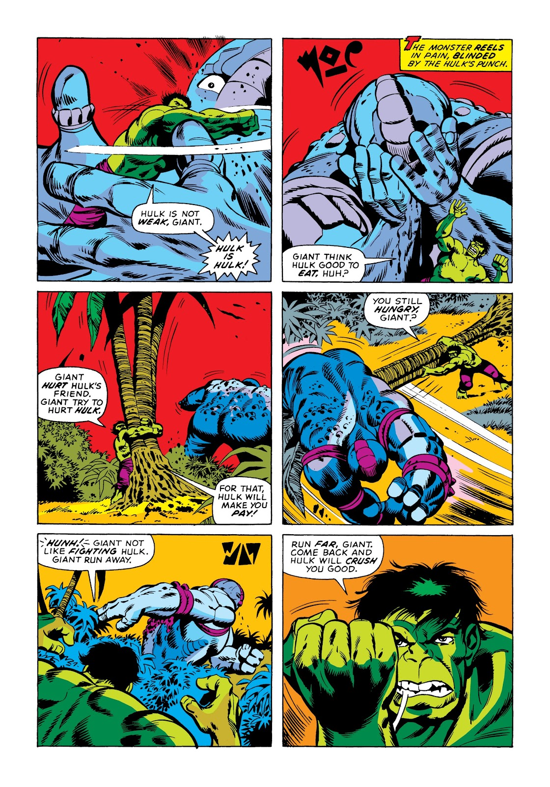 Read online Marvel Masterworks: The Incredible Hulk comic -  Issue # TPB 9 (Part 3) - 83