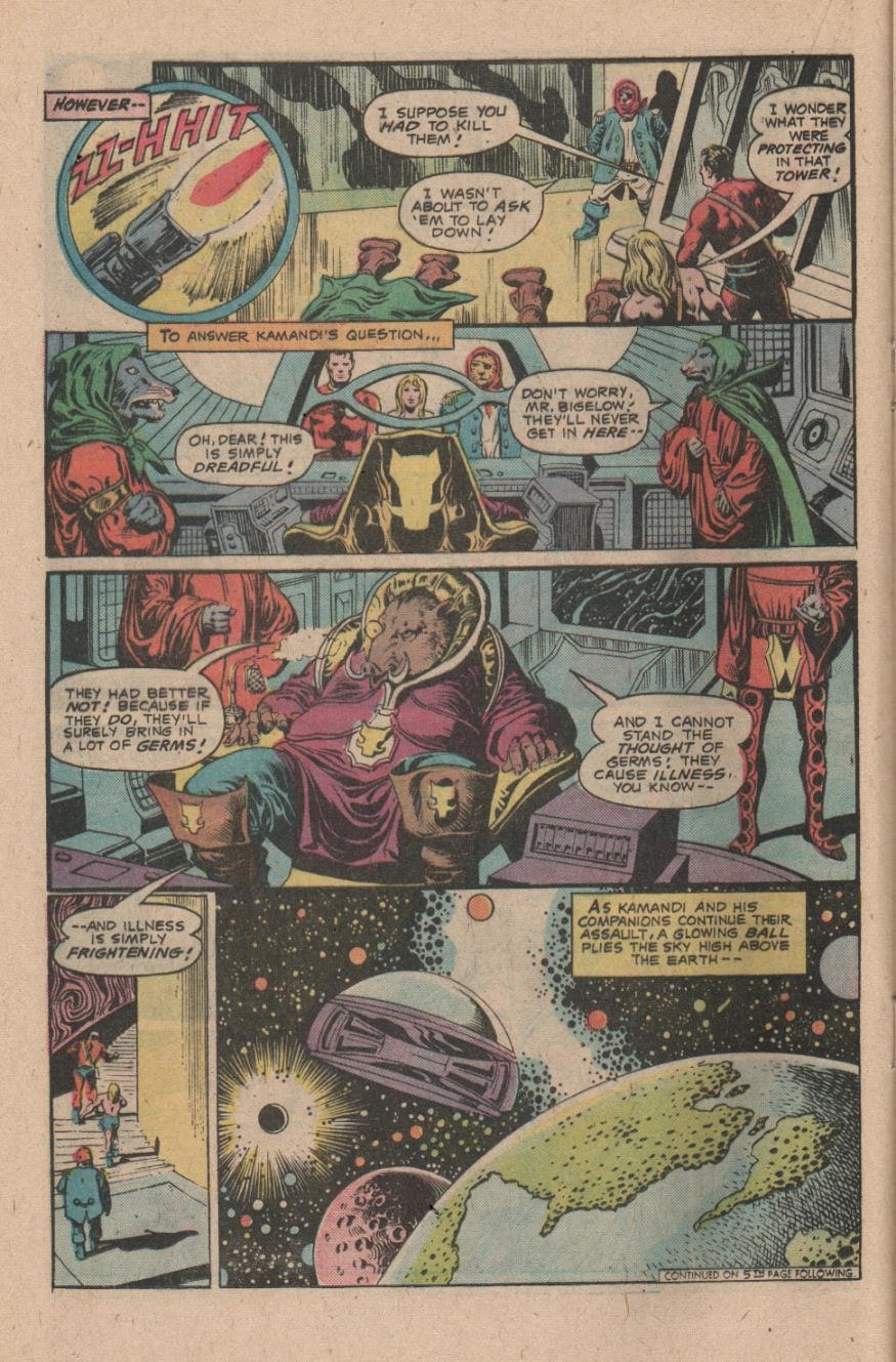 Kamandi, The Last Boy On Earth issue 47 - Page 16