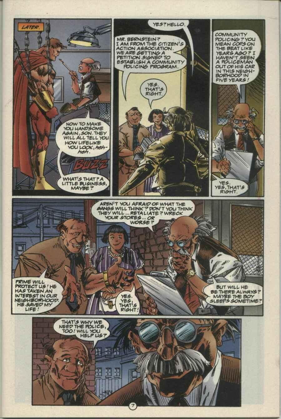 Read online Ultraverse Premiere comic -  Issue #4 - 7