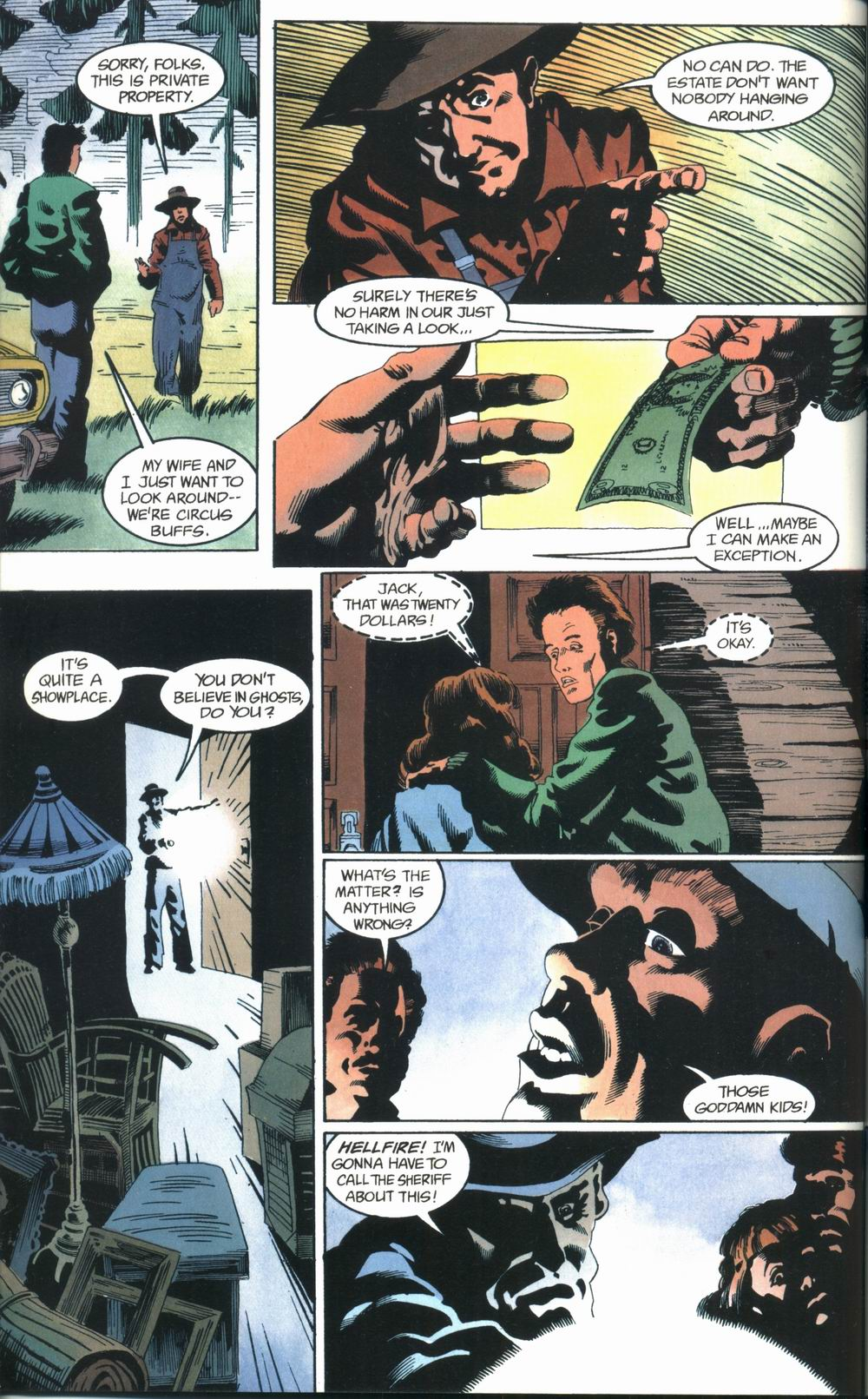 Read online Deadman: Love After Death comic -  Issue #1 - 36