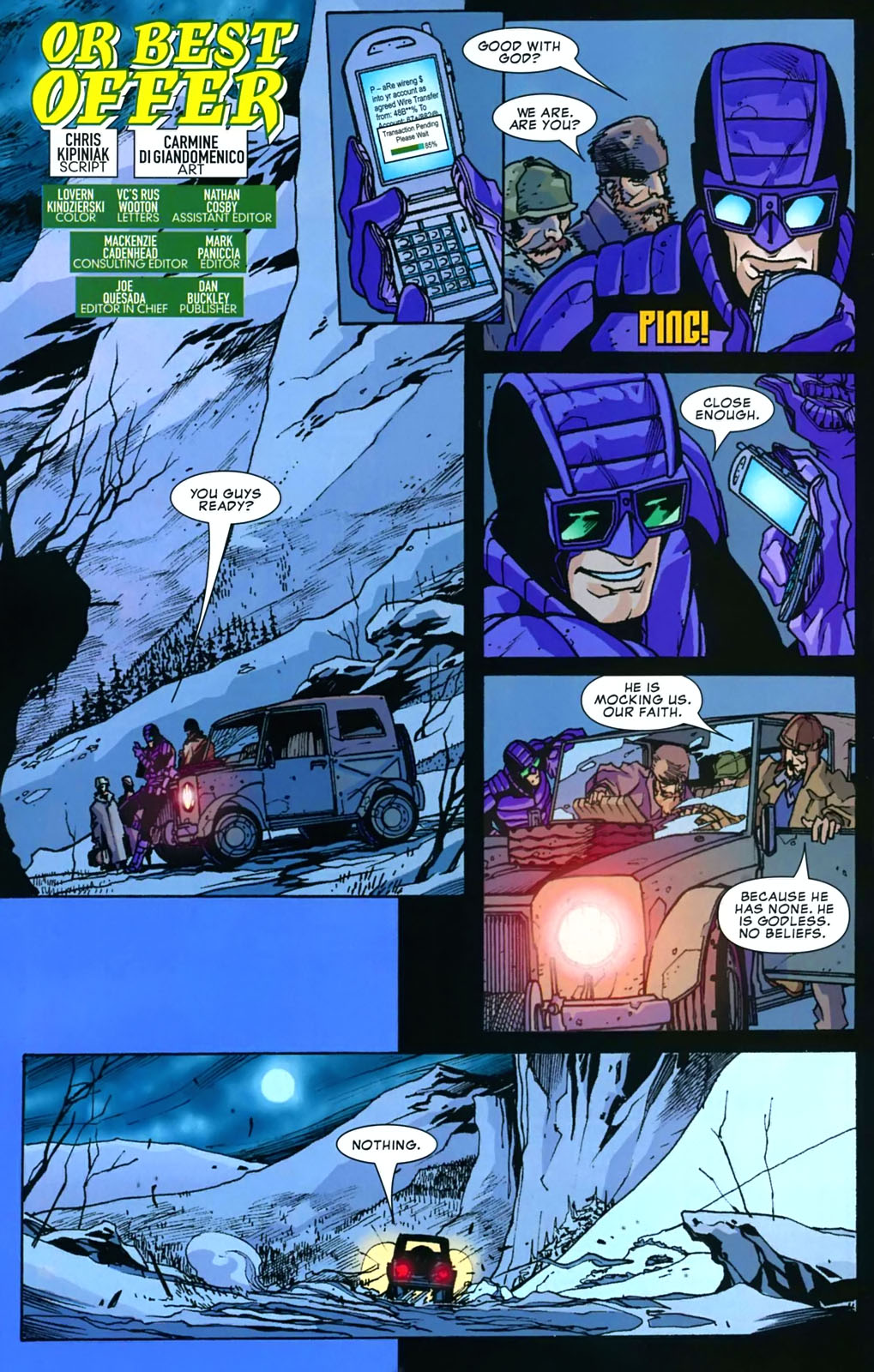 Read online Amazing Fantasy (2004) comic -  Issue #16 - 25