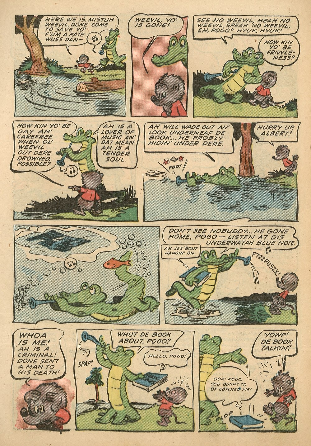 Read online Animal Comics comic -  Issue #18 - 13