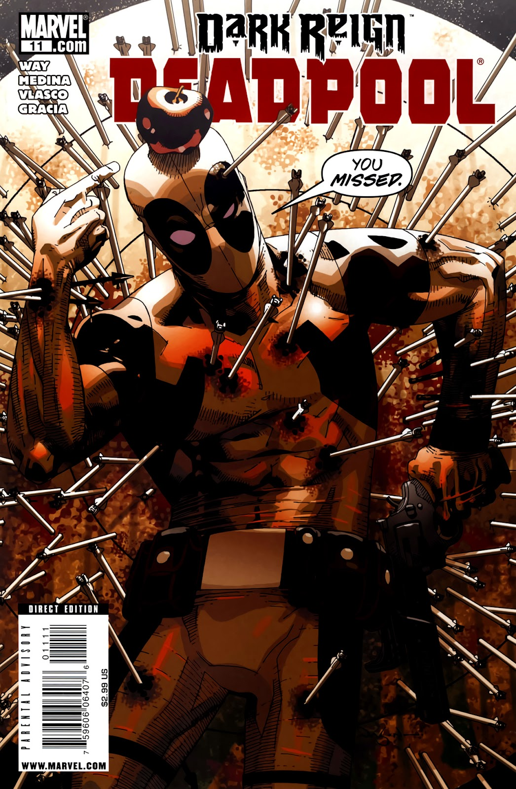 Read online Deadpool (2008) comic -  Issue #11 - 1
